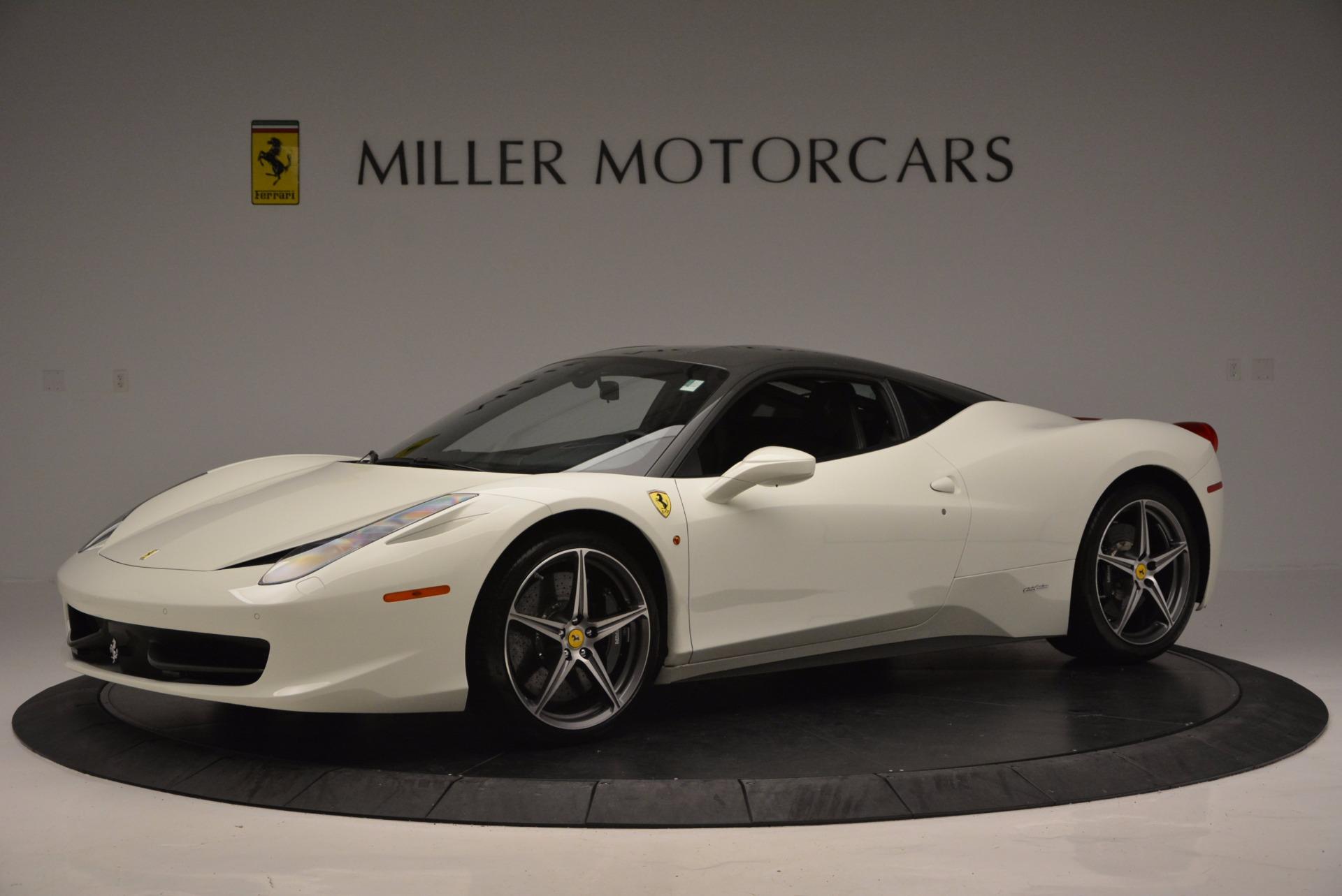 Used 2012 Ferrari 458 Italia  For Sale In Greenwich, CT 709_p2