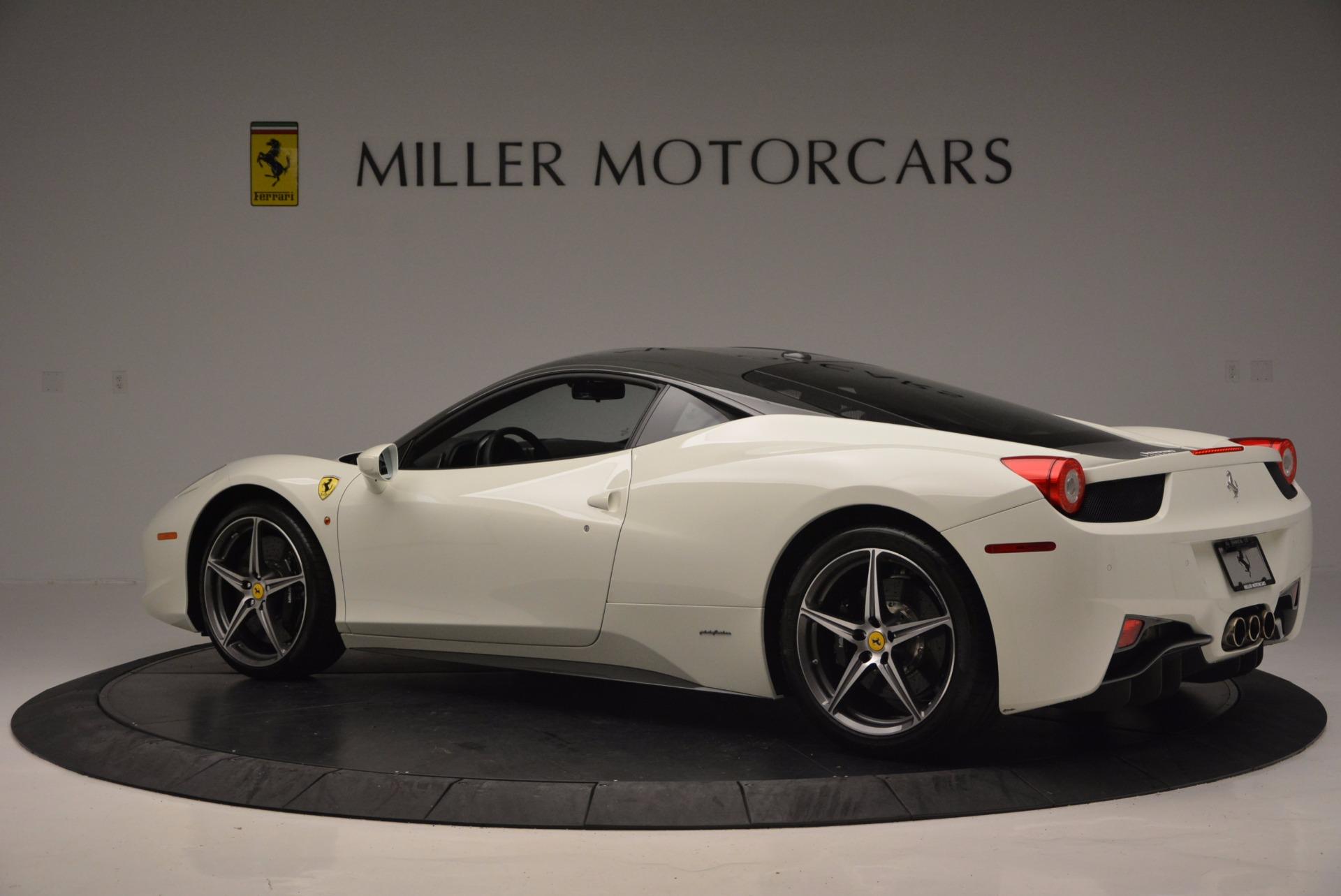 Used 2012 Ferrari 458 Italia  For Sale In Greenwich, CT 709_p4