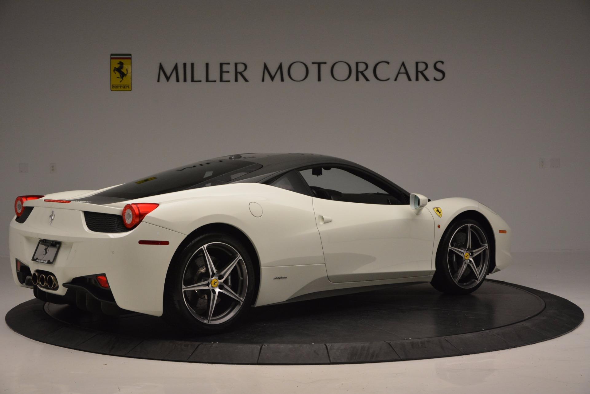Used 2012 Ferrari 458 Italia  For Sale In Greenwich, CT 709_p8