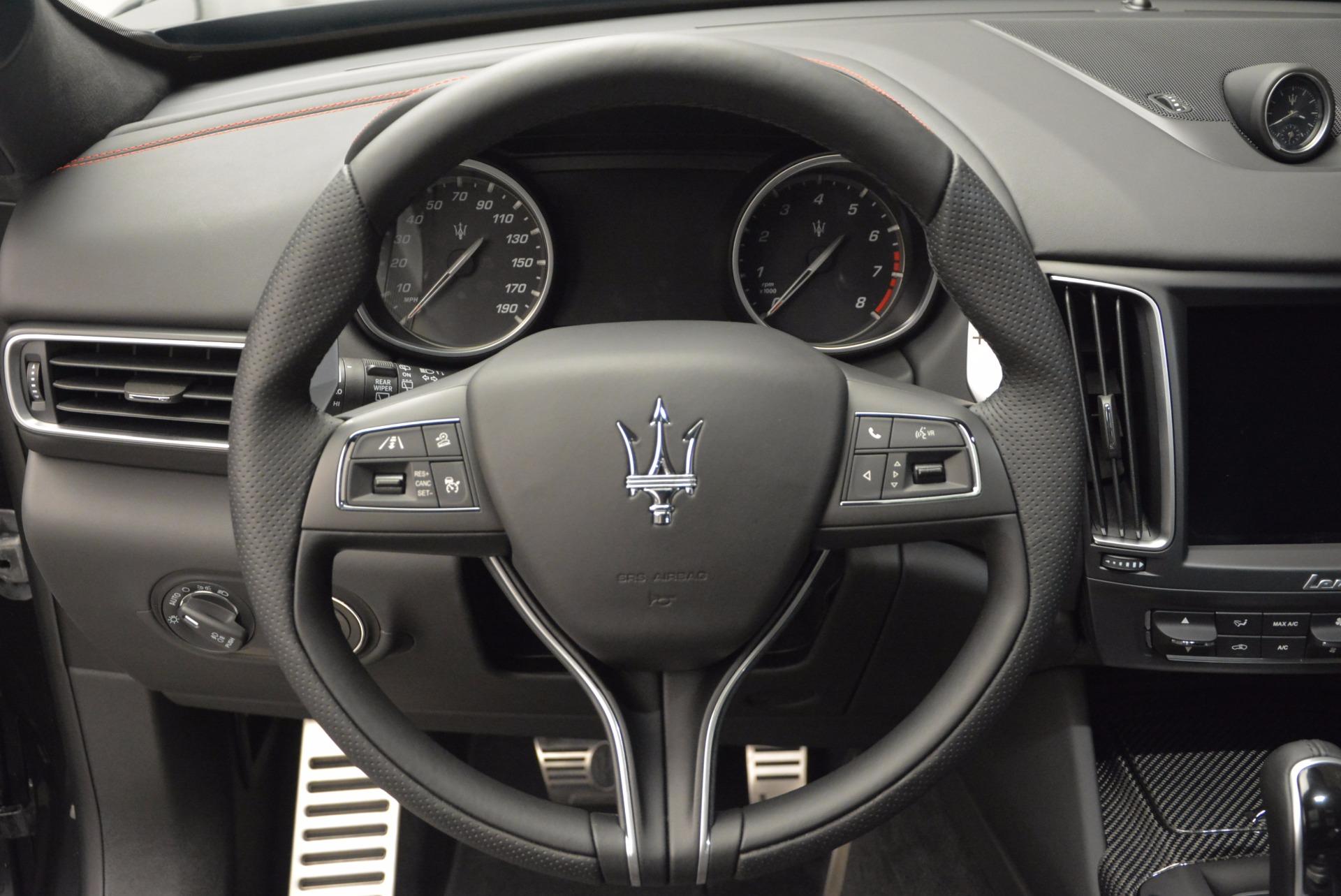 New 2017 Maserati Levante S For Sale In Greenwich, CT 747_p19