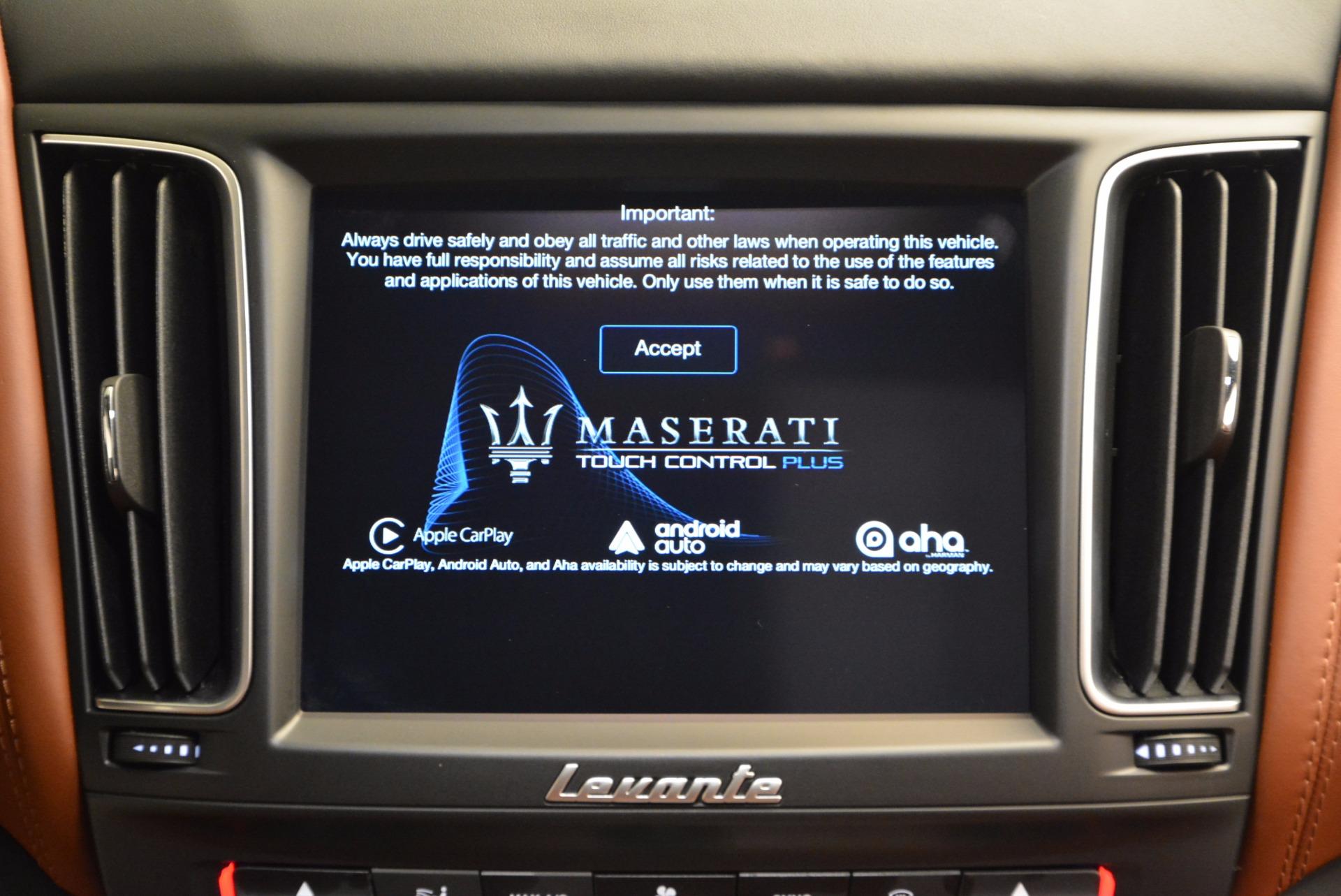 Used 2017 Maserati Levante S For Sale In Greenwich, CT 752_p34