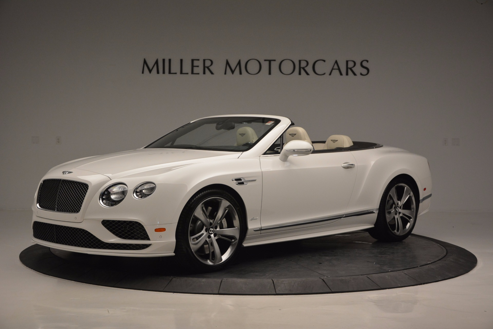 New 2017 Bentley Continental GT Speed Convertible  For Sale In Greenwich, CT 761_p2