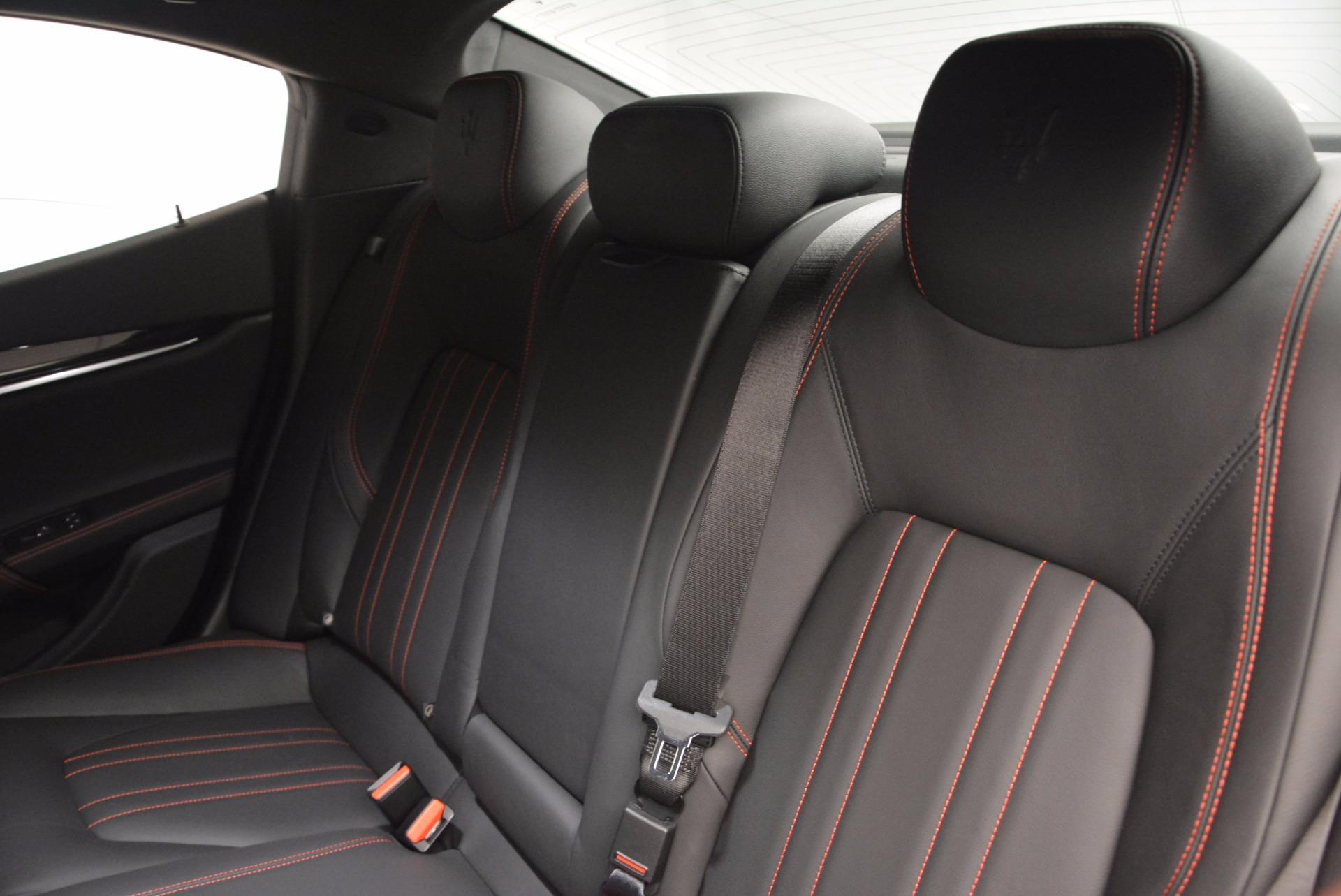 Used 2017 Maserati Ghibli S Q4 EX-Loaner For Sale In Greenwich, CT 776_p19
