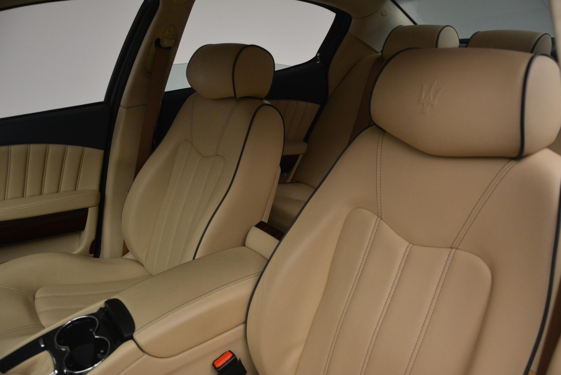 Used 2010 Maserati Quattroporte S For Sale In Greenwich, CT 795_p13