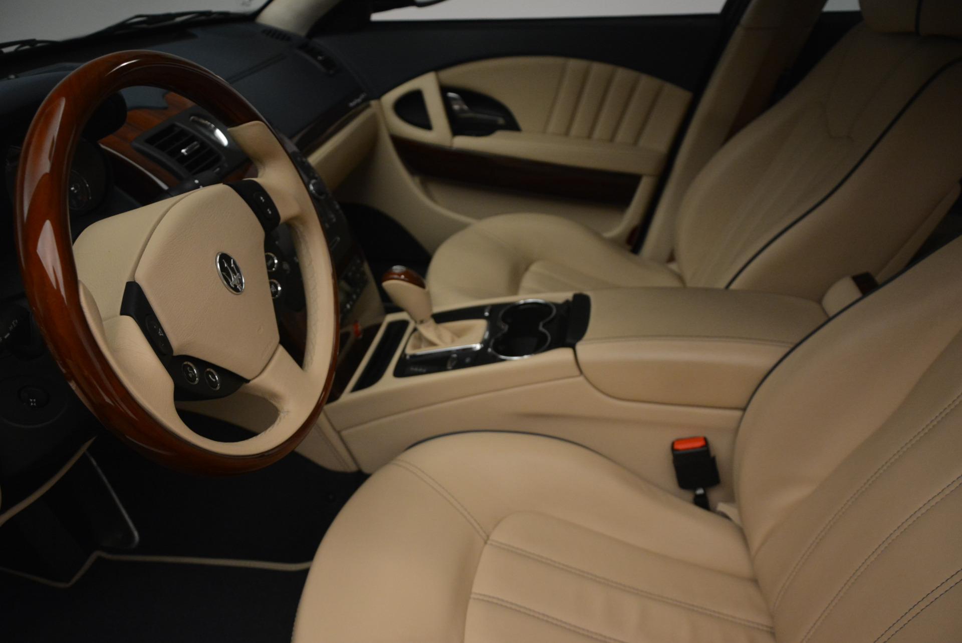 Used 2010 Maserati Quattroporte S For Sale In Greenwich, CT 795_p14