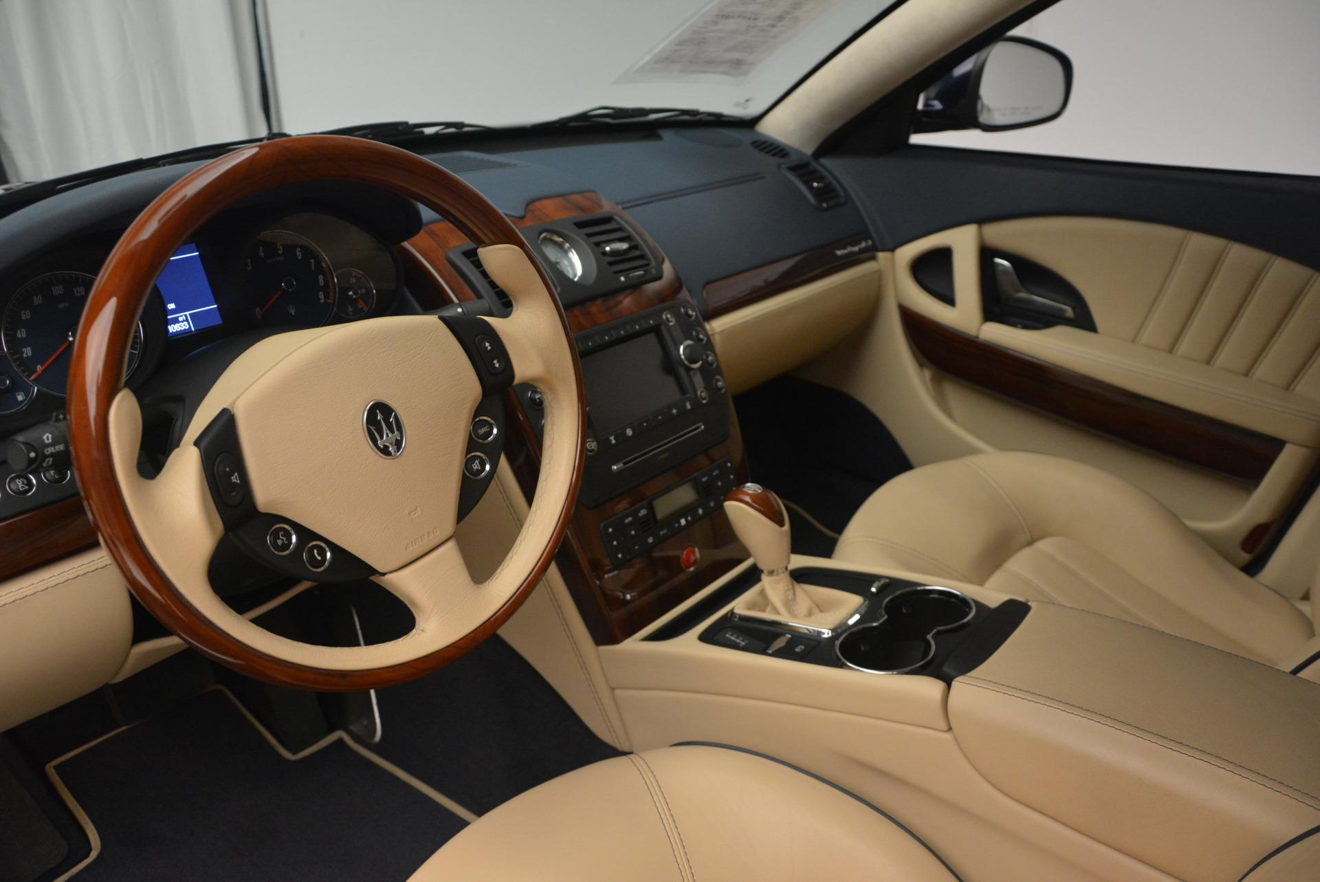 Used 2010 Maserati Quattroporte S For Sale In Greenwich, CT 795_p15
