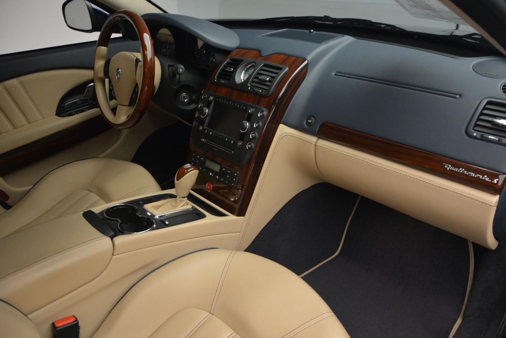 Used 2010 Maserati Quattroporte S For Sale In Greenwich, CT 795_p19