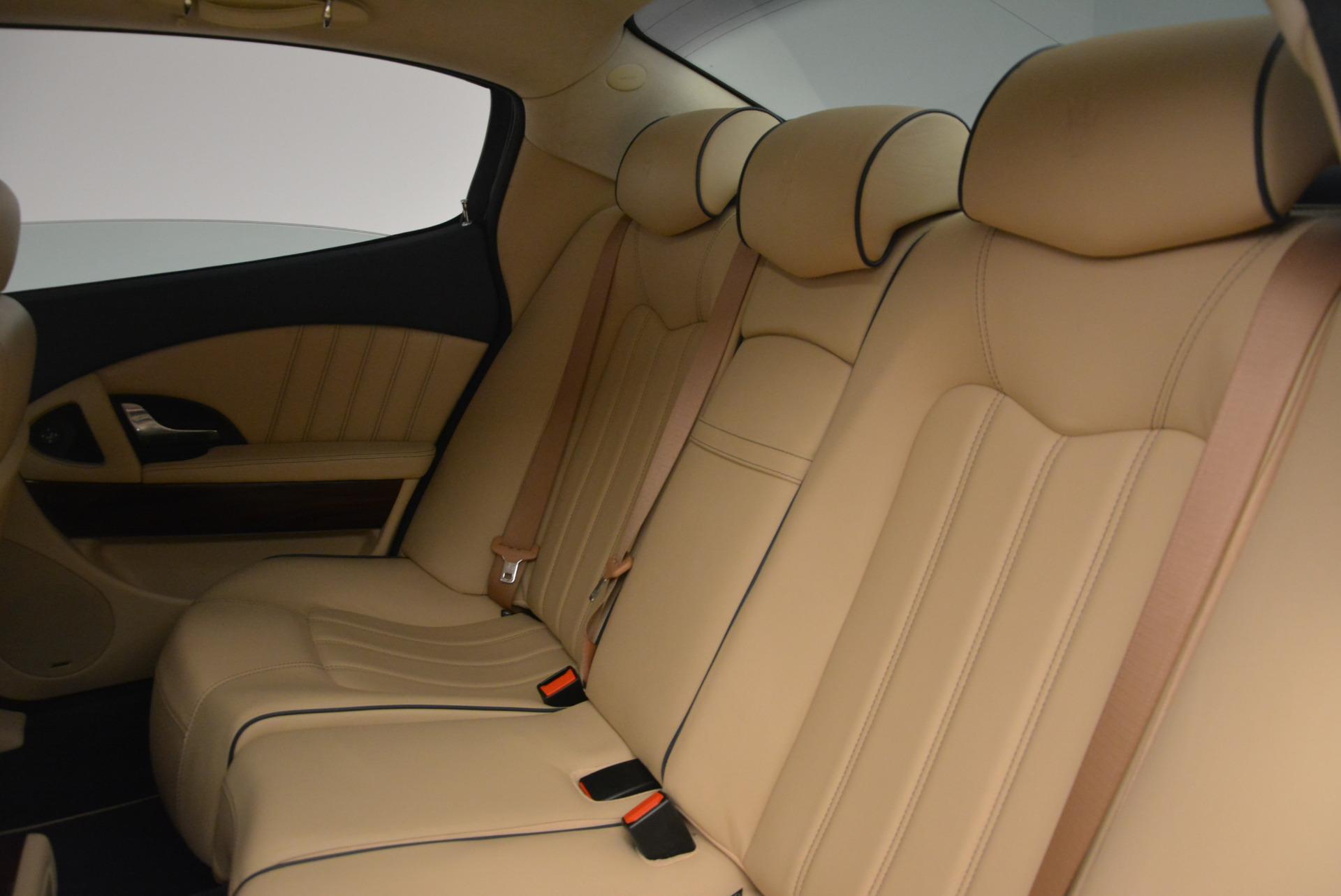 Used 2010 Maserati Quattroporte S For Sale In Greenwich, CT 795_p23