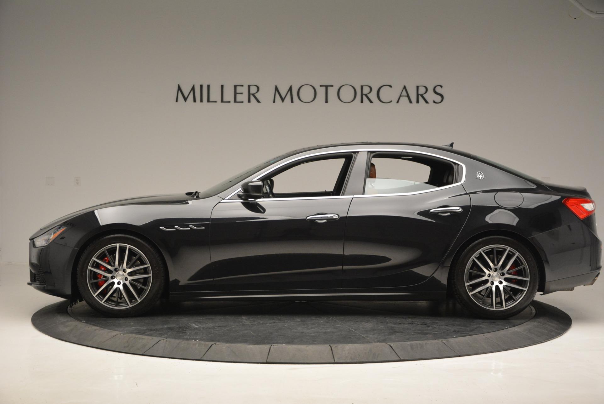 Used 2014 Maserati Ghibli S Q4 For Sale In Greenwich, CT 805_p3