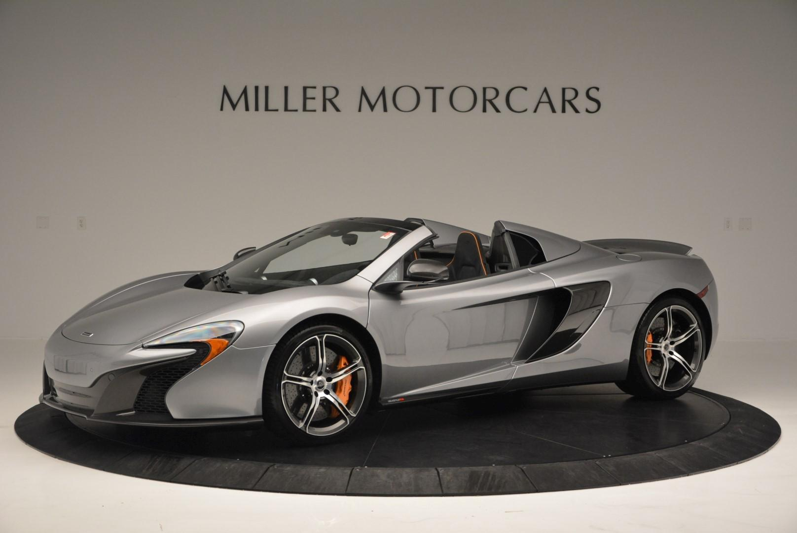 Used 2016 McLaren 650S Convertible For Sale In Greenwich, CT 82_main