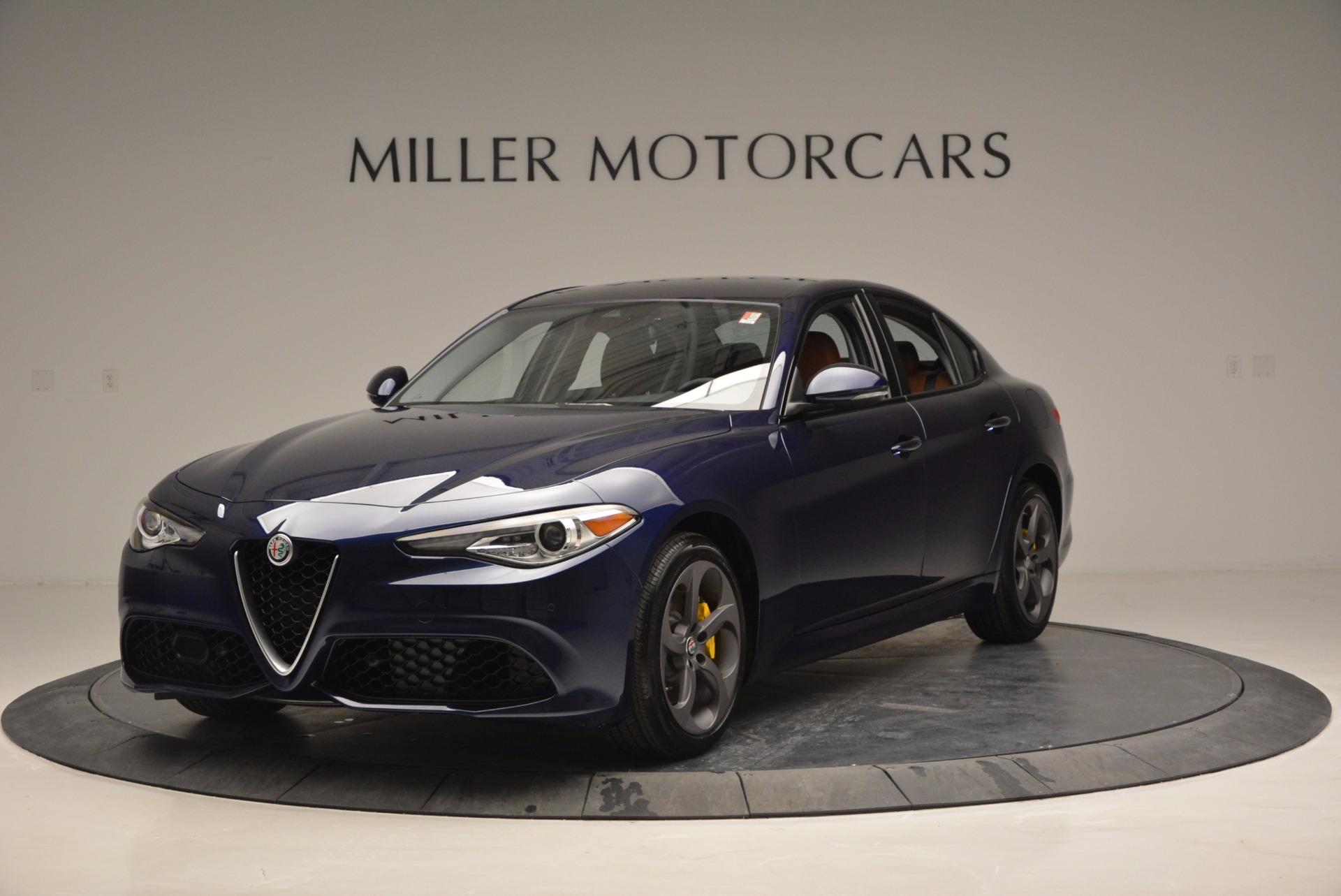 New 2017 Alfa Romeo Giulia Q4 For Sale In Greenwich, CT 829_main