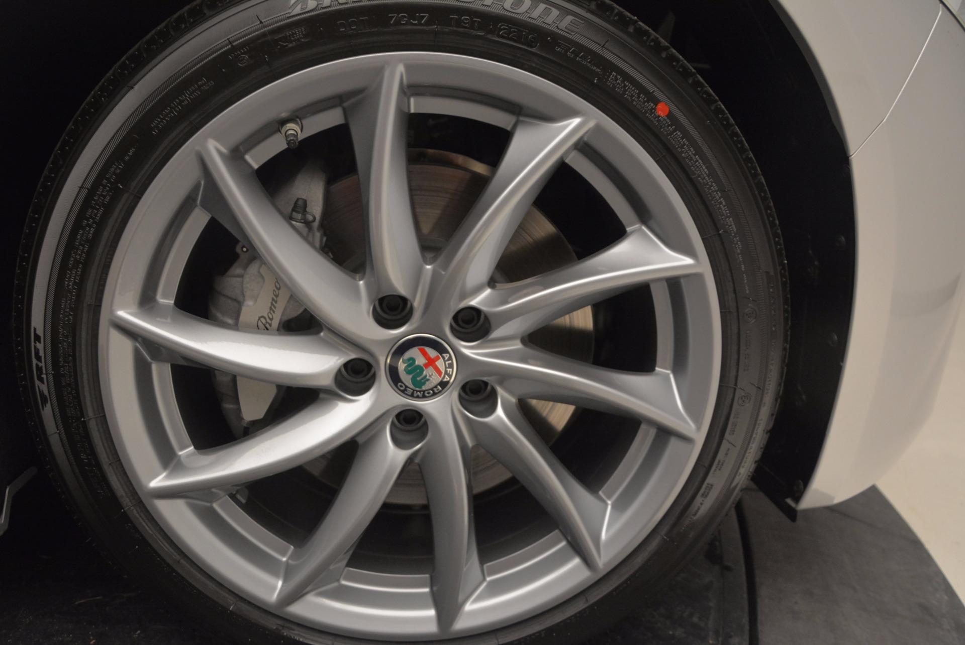 New 2017 Alfa Romeo Giulia Q4 For Sale In Greenwich, CT 831_p40