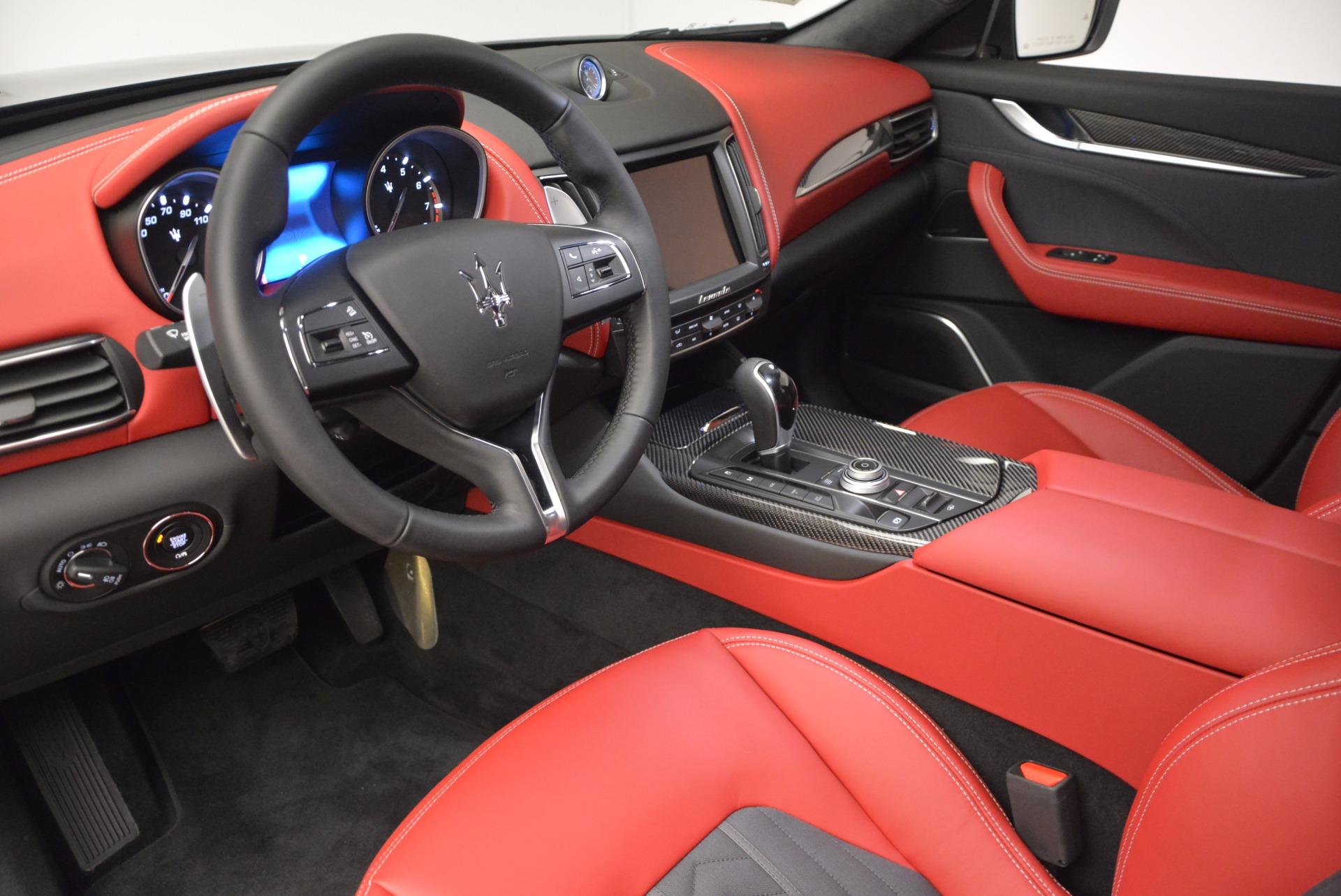 New 2017 Maserati Levante S Zegna Edition For Sale In Greenwich, CT 840_p13