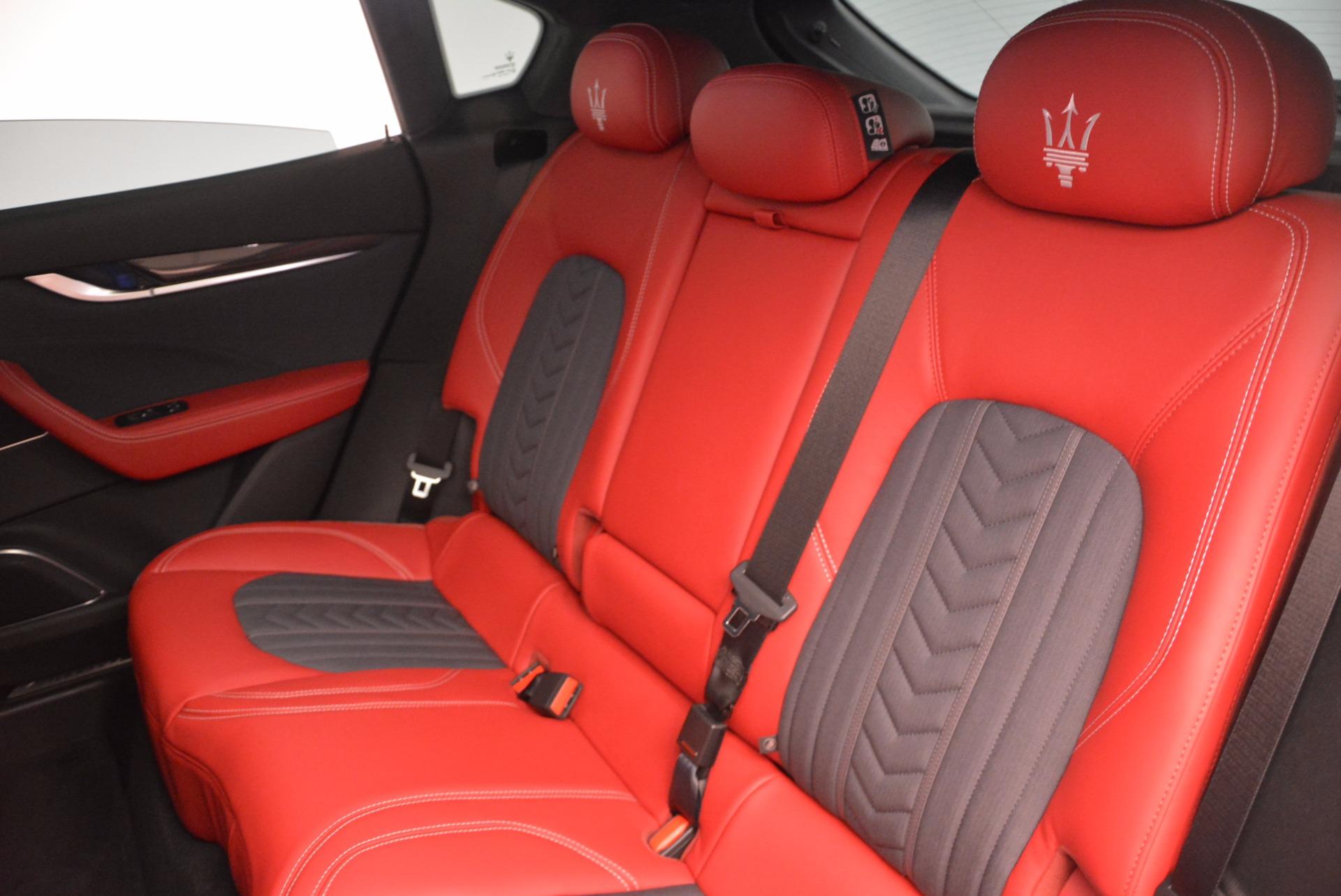 New 2017 Maserati Levante S Zegna Edition For Sale In Greenwich, CT 840_p19