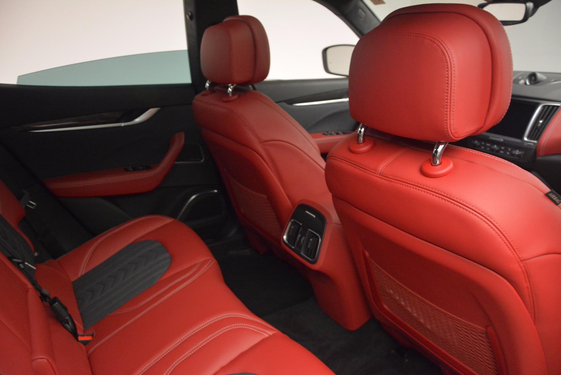 New 2017 Maserati Levante S Zegna Edition For Sale In Greenwich, CT 840_p29