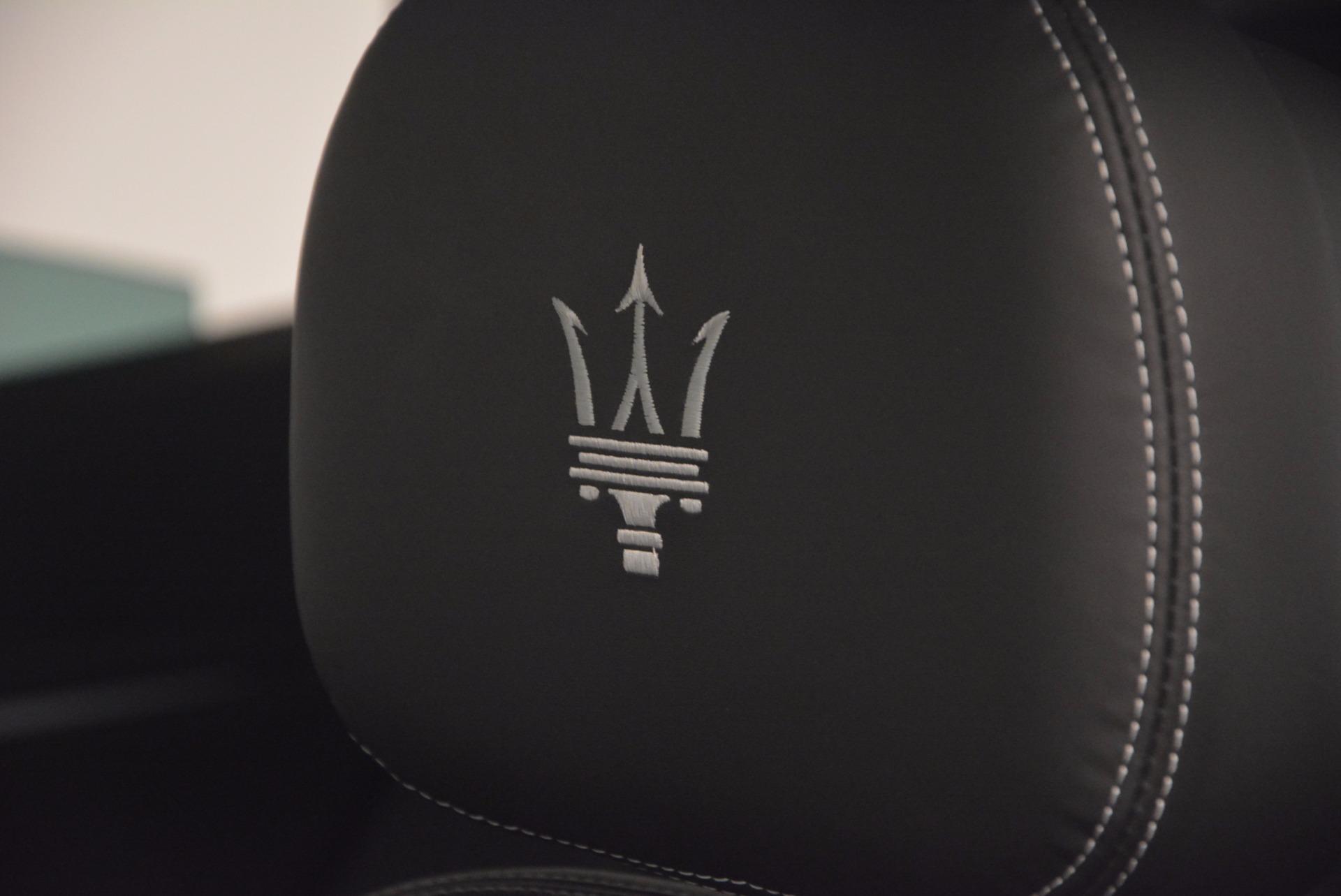 New 2017 Maserati Levante S Q4 For Sale In Greenwich, CT 847_p20