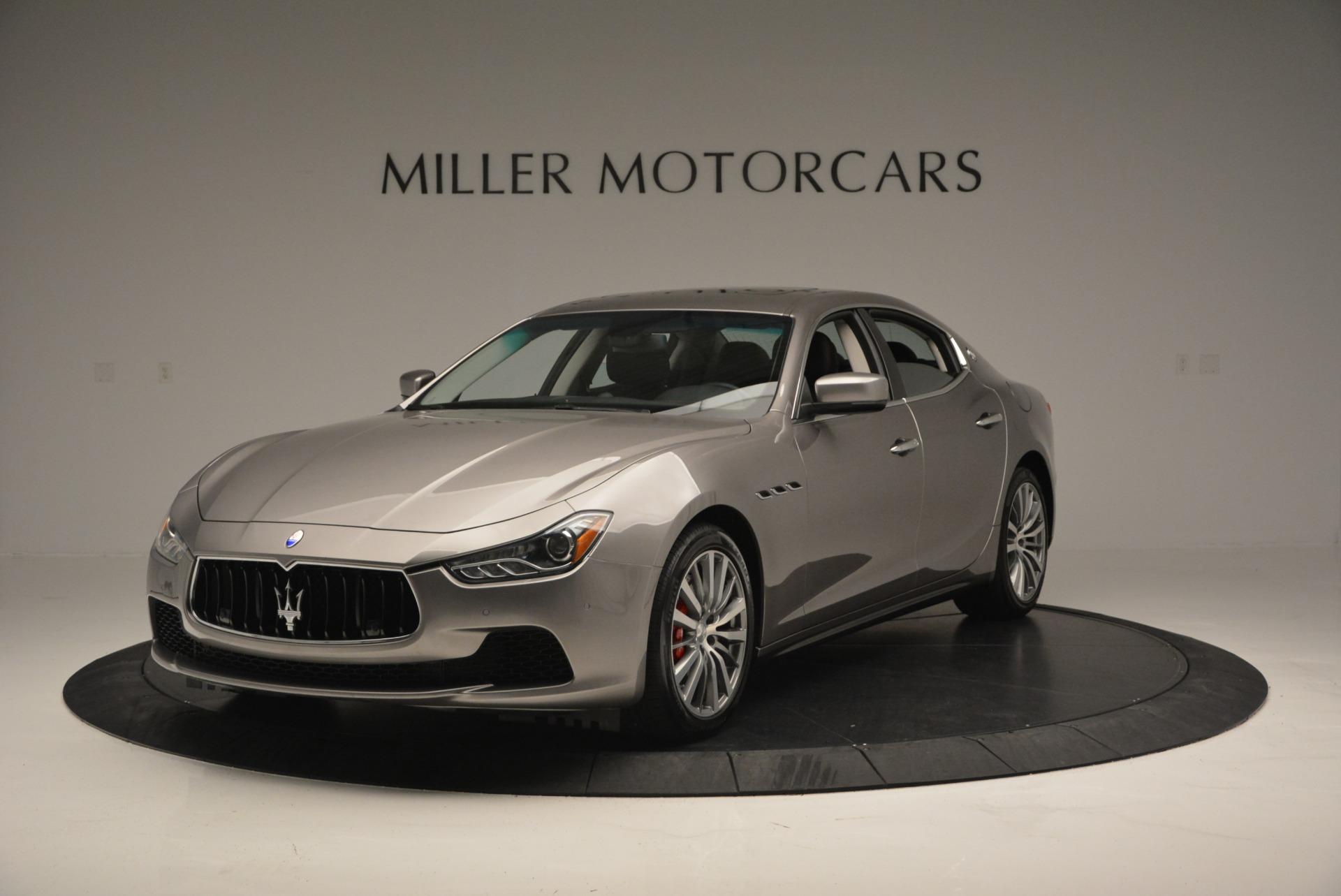 New 2017 Maserati Ghibli S Q4 For Sale In Greenwich, CT 848_main