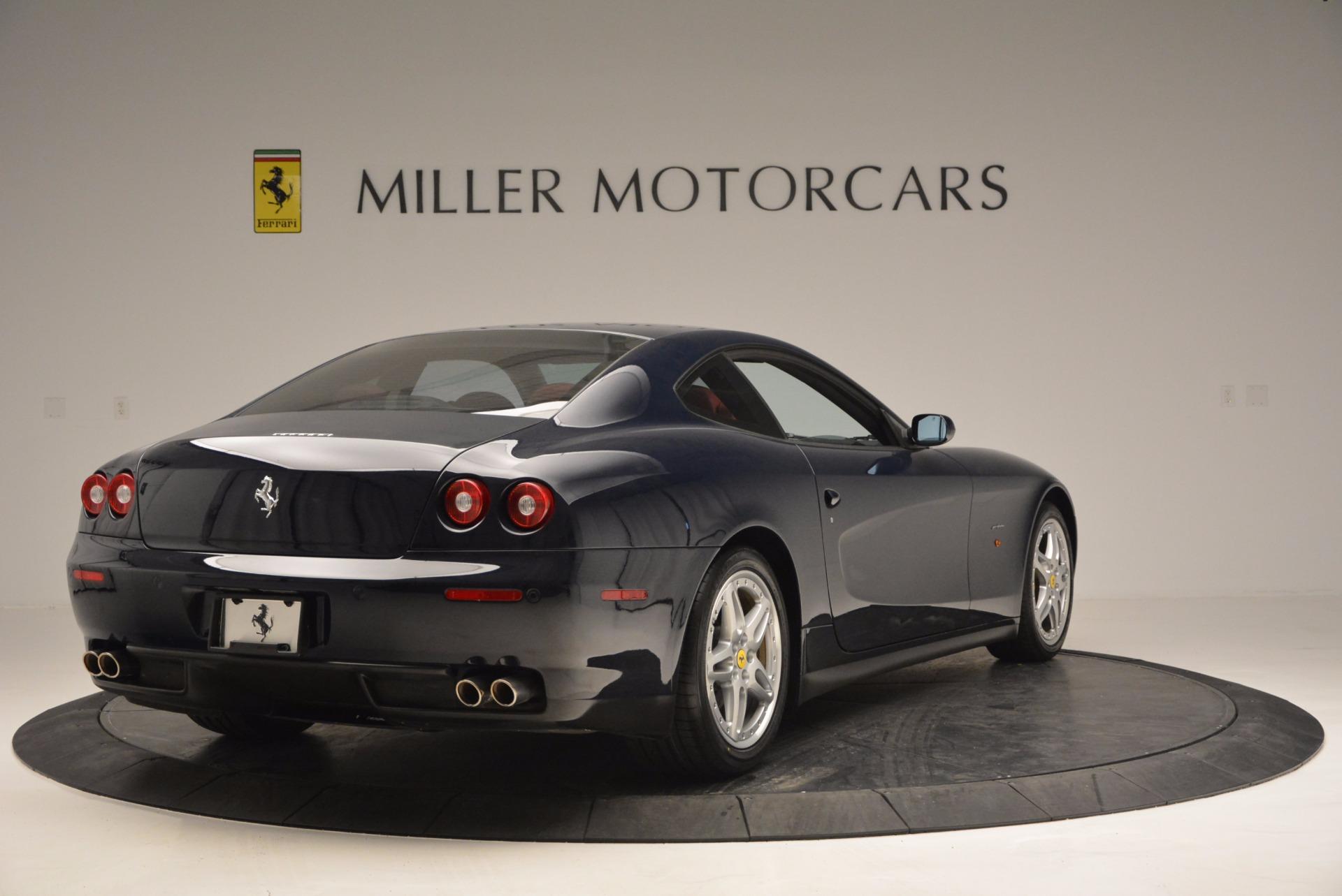 Used 2005 Ferrari 612 Scaglietti 6-Speed Manual For Sale In Greenwich, CT 854_p8