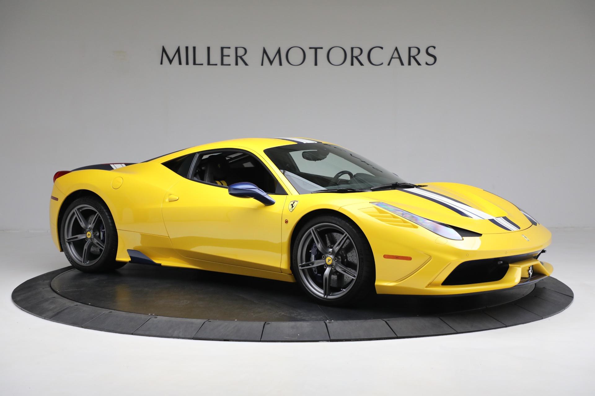 Used 2015 Ferrari 458 Speciale  For Sale In Greenwich, CT 857_p10