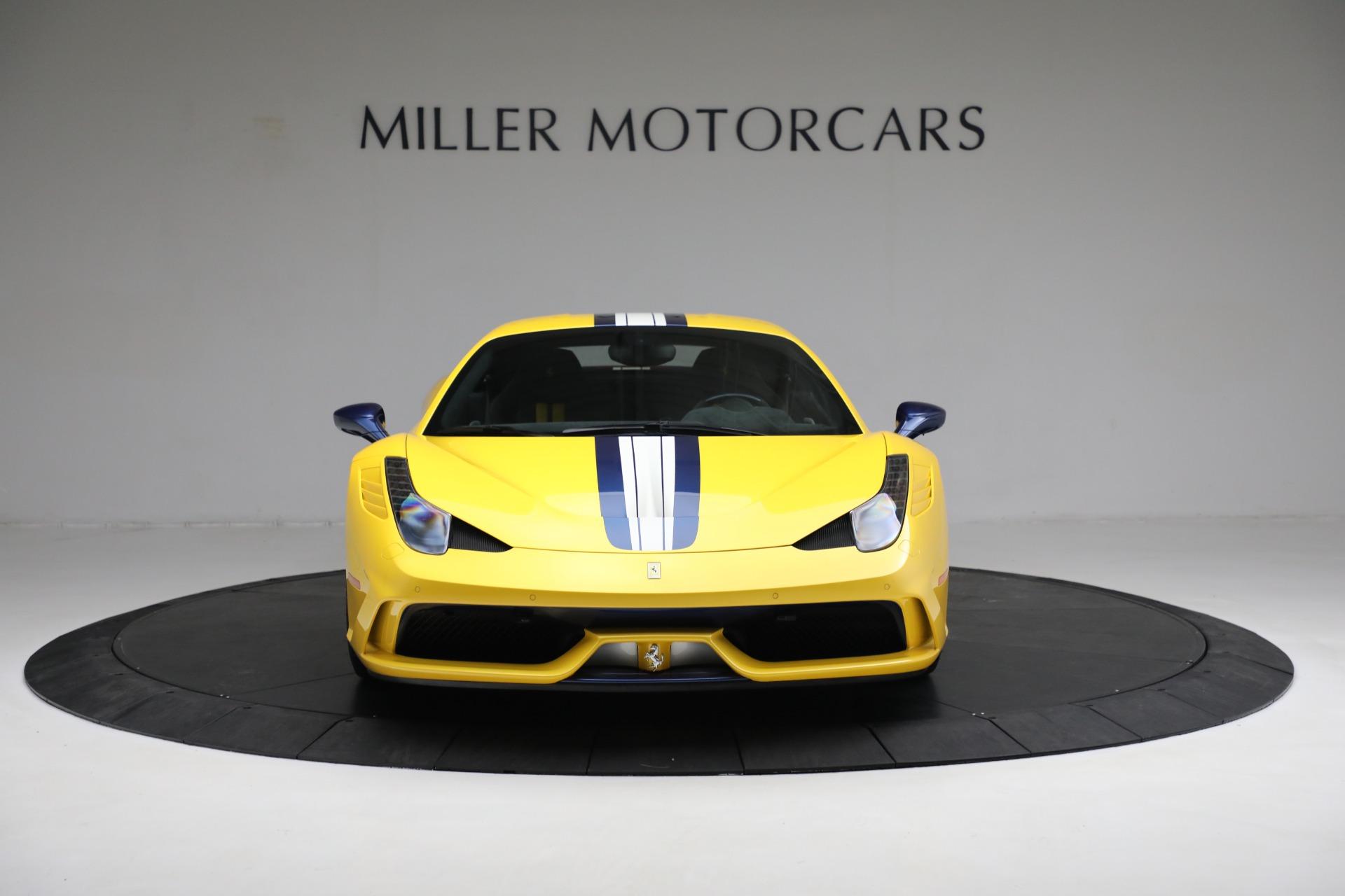Used 2015 Ferrari 458 Speciale  For Sale In Greenwich, CT 857_p12