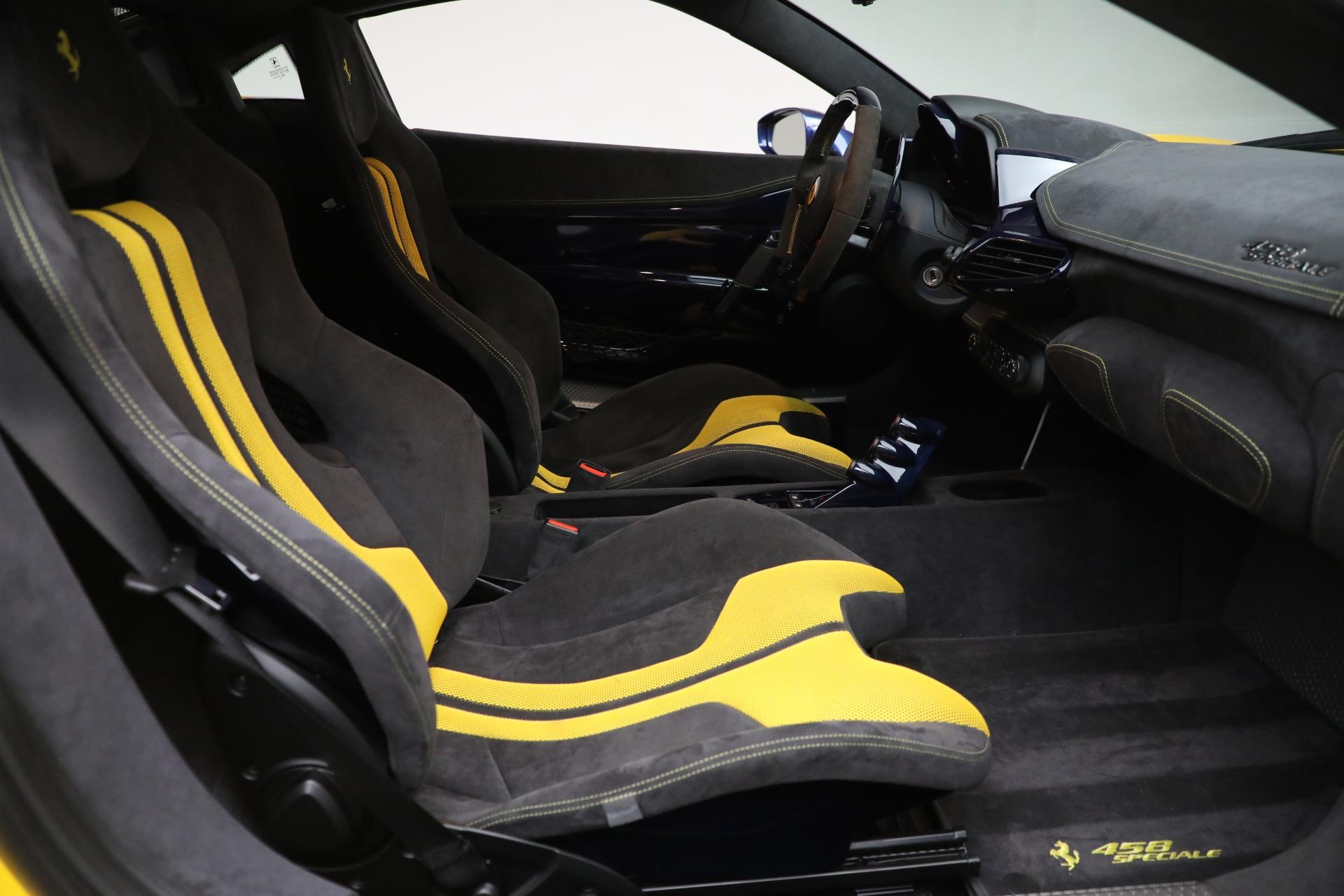 Used 2015 Ferrari 458 Speciale  For Sale In Greenwich, CT 857_p17