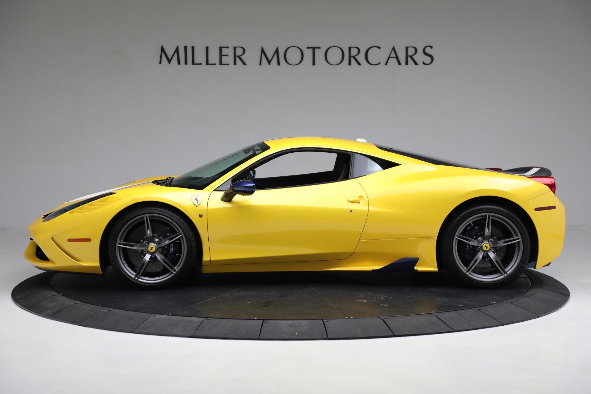 Used 2015 Ferrari 458 Speciale  For Sale In Greenwich, CT 857_p3