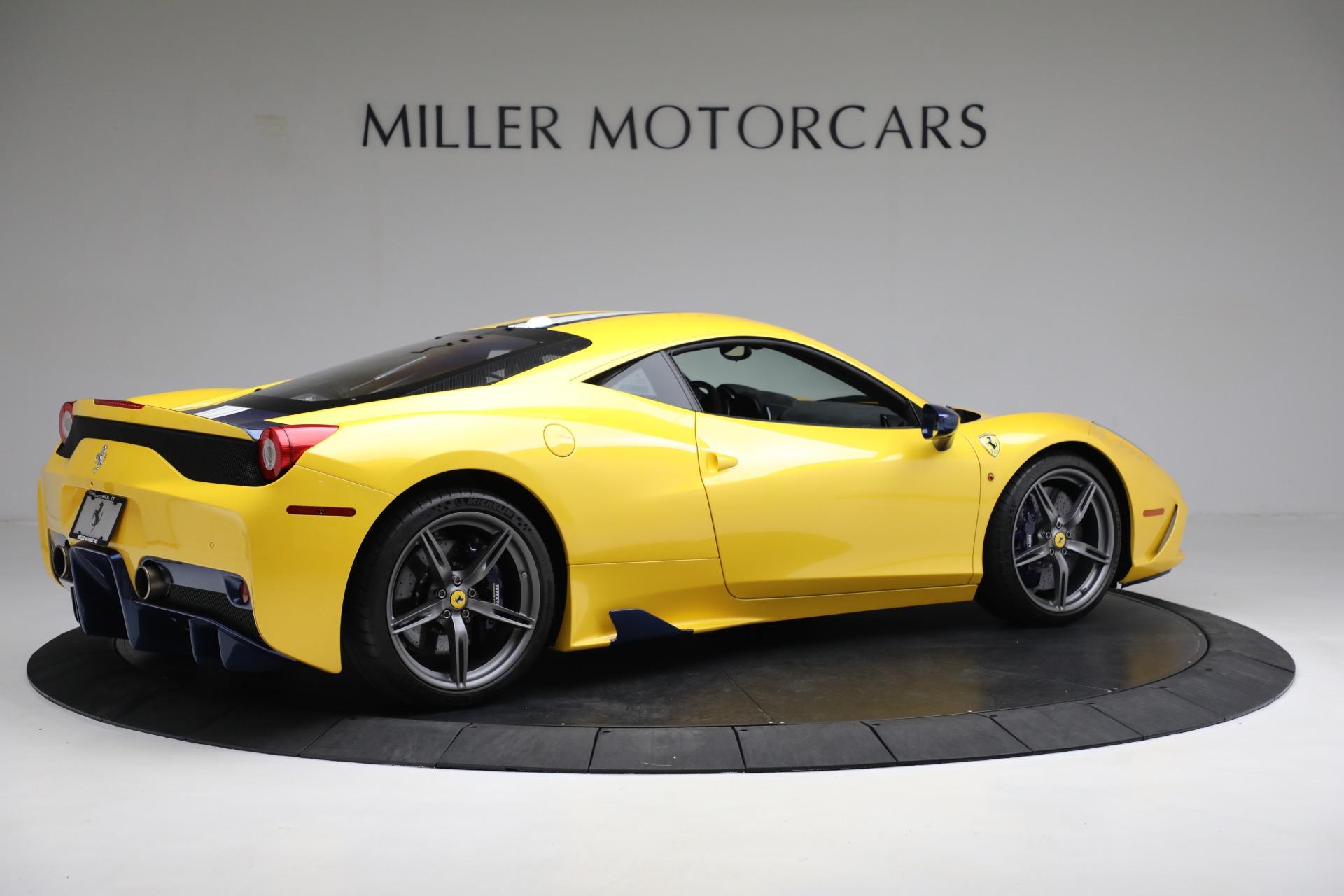 Used 2015 Ferrari 458 Speciale  For Sale In Greenwich, CT 857_p8
