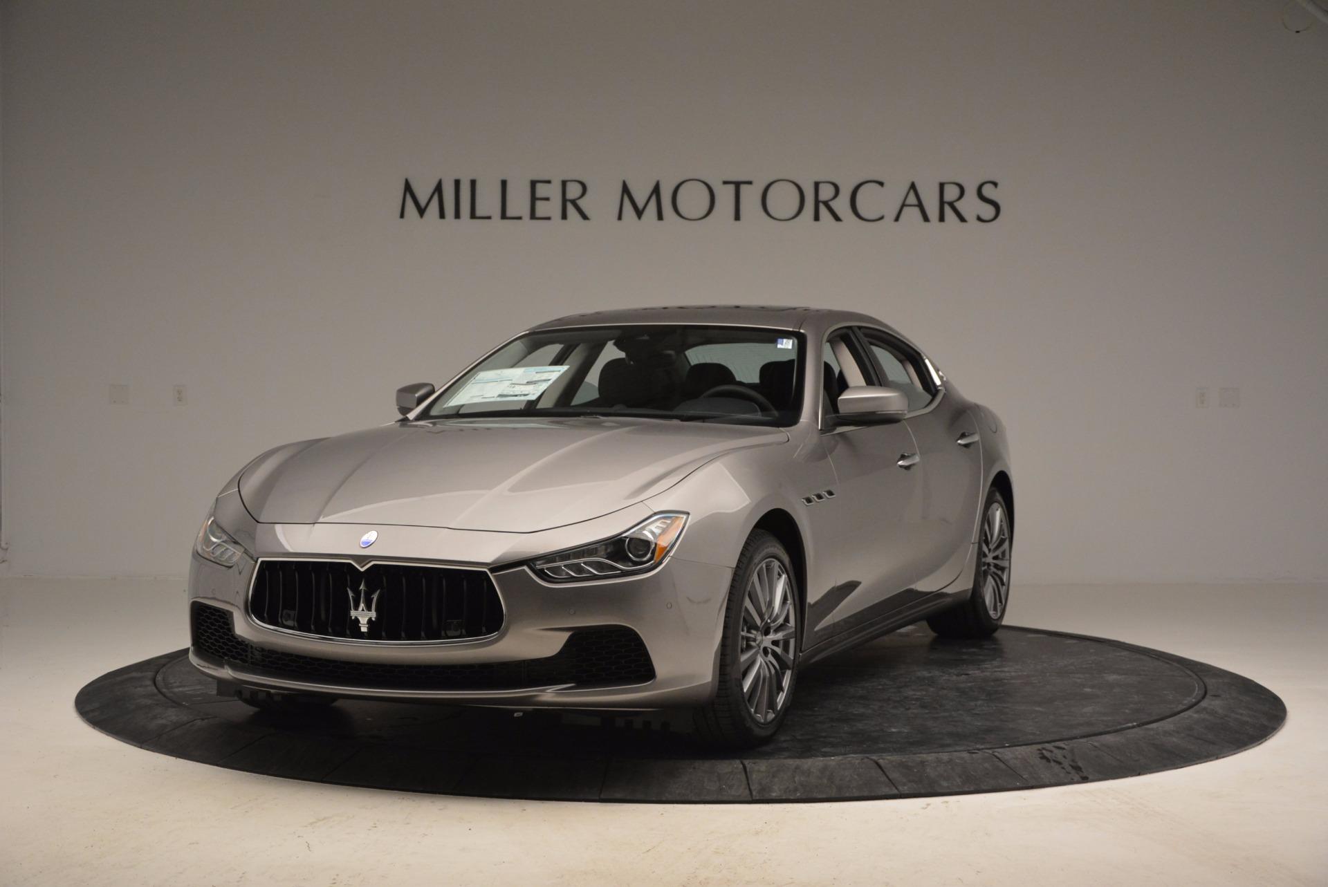 New 2017 Maserati Ghibli S Q4 For Sale In Greenwich, CT 872_main