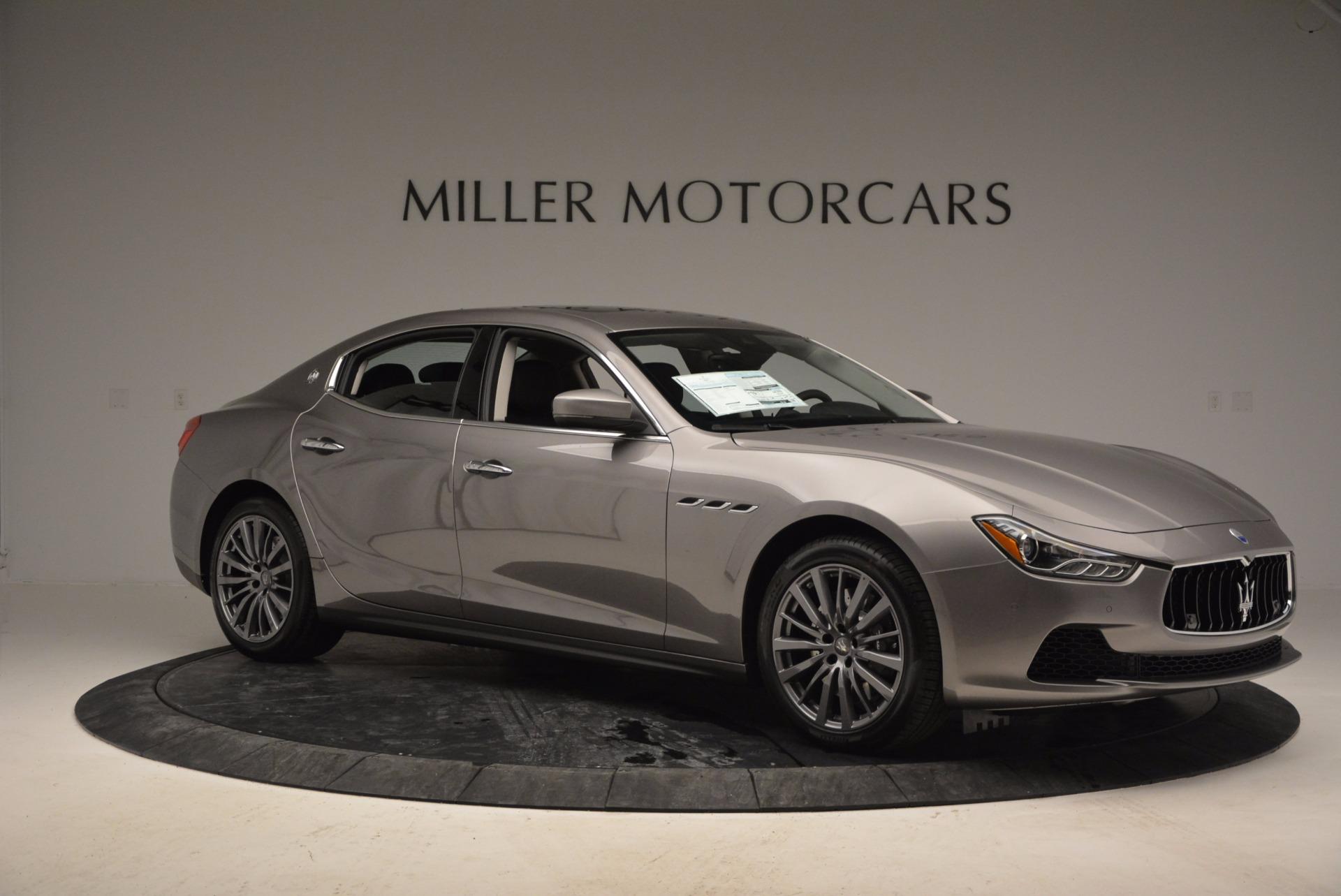 New 2017 Maserati Ghibli S Q4 For Sale In Greenwich, CT 872_p10