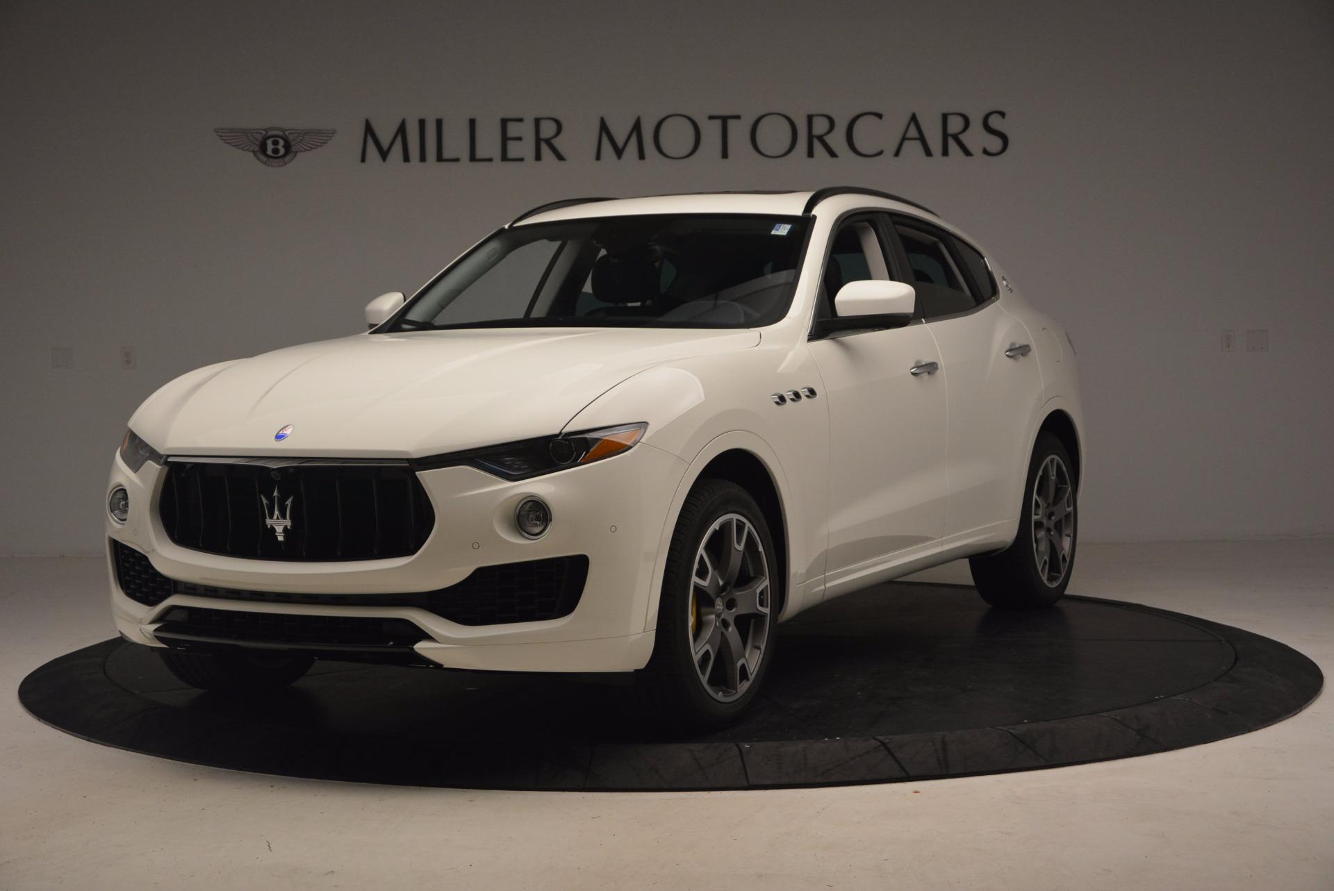 New 2017 Maserati Levante  For Sale In Greenwich, CT 880_main