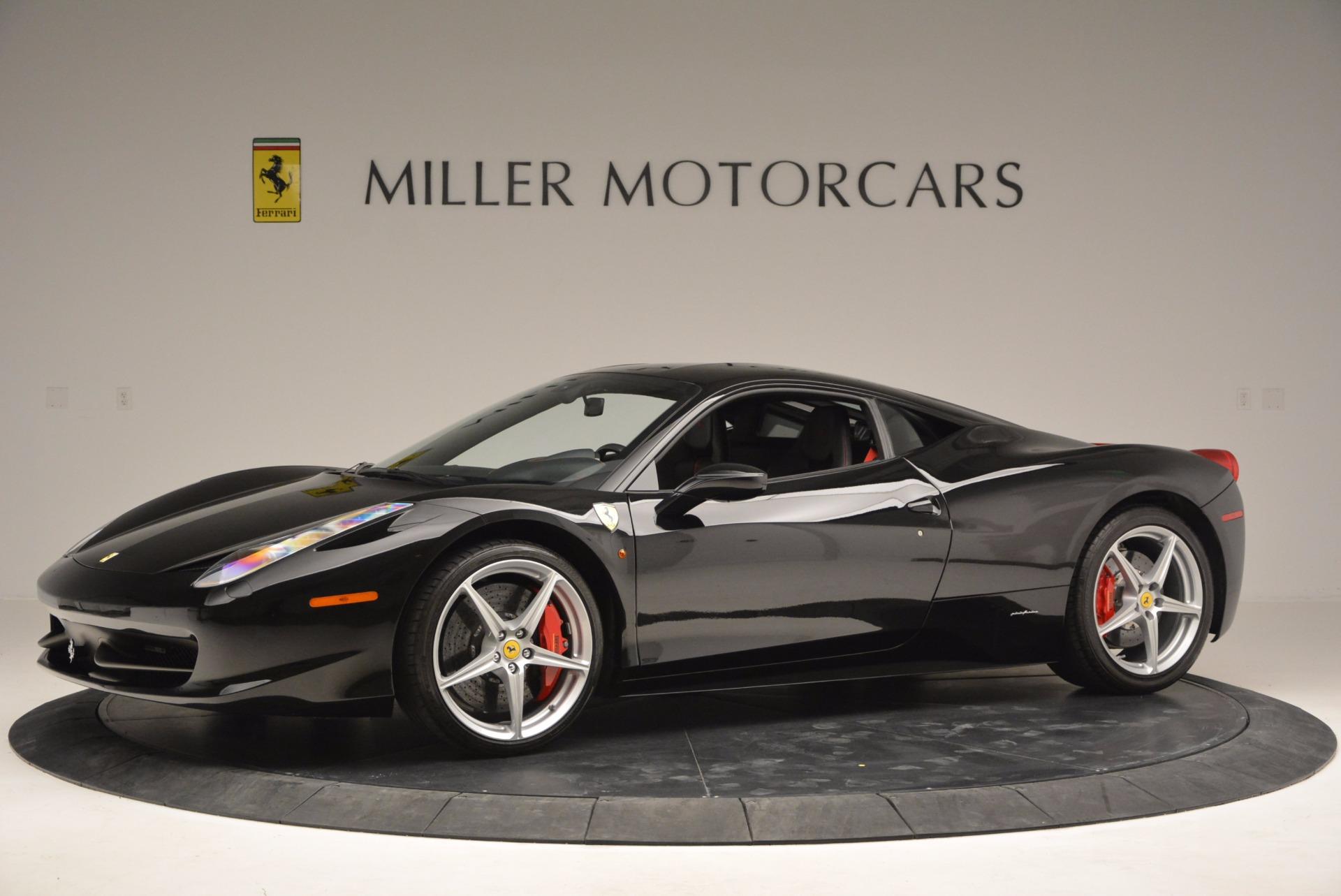 Used 2013 Ferrari 458 Italia  For Sale In Greenwich, CT 889_p2