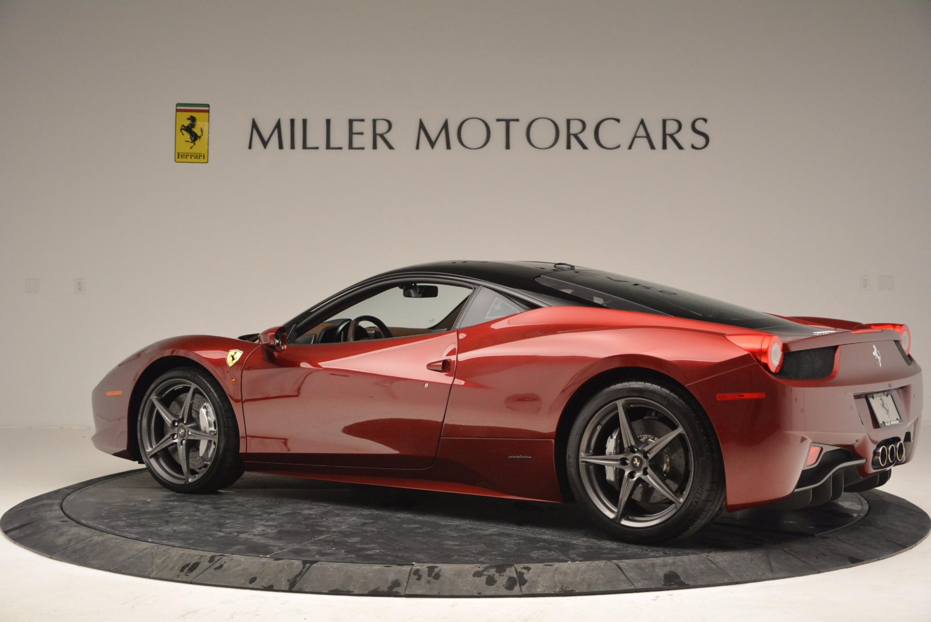 Used 2011 Ferrari 458 Italia  For Sale In Greenwich, CT 899_p4