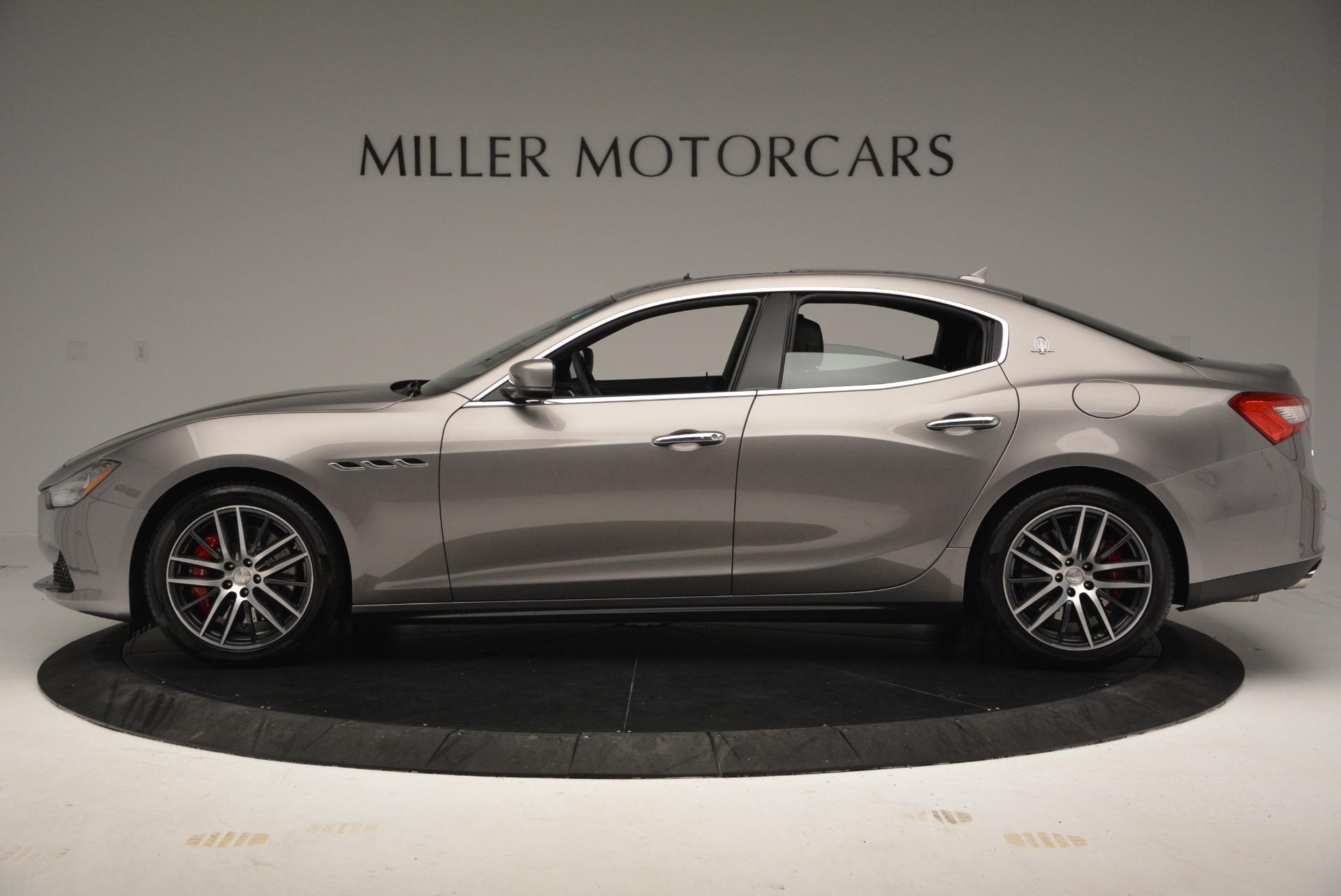 New 2017 Maserati Ghibli S Q4 For Sale In Greenwich, CT 920_p3