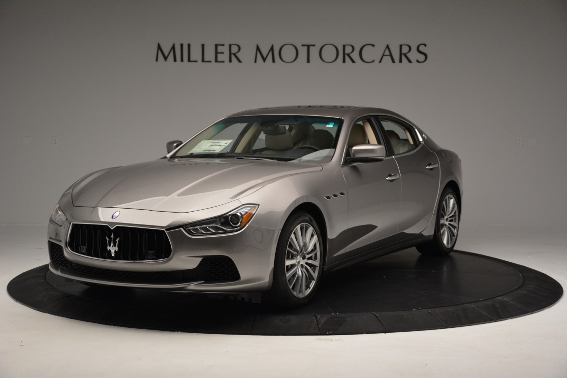 New 2017 Maserati Ghibli S Q4 For Sale In Greenwich, CT 930_main