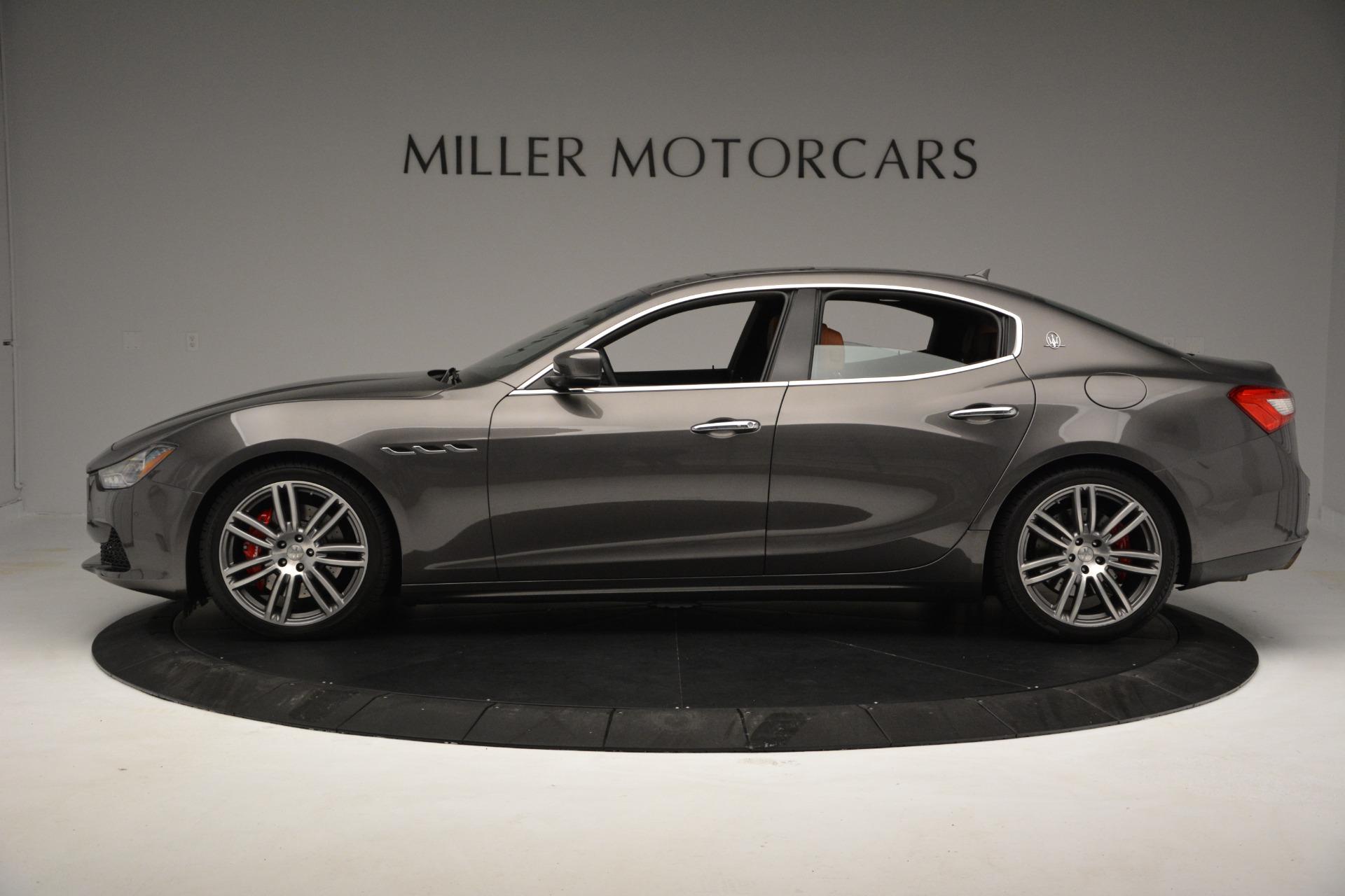 New 2017 Maserati Ghibli S Q4 For Sale In Greenwich, CT 935_p3