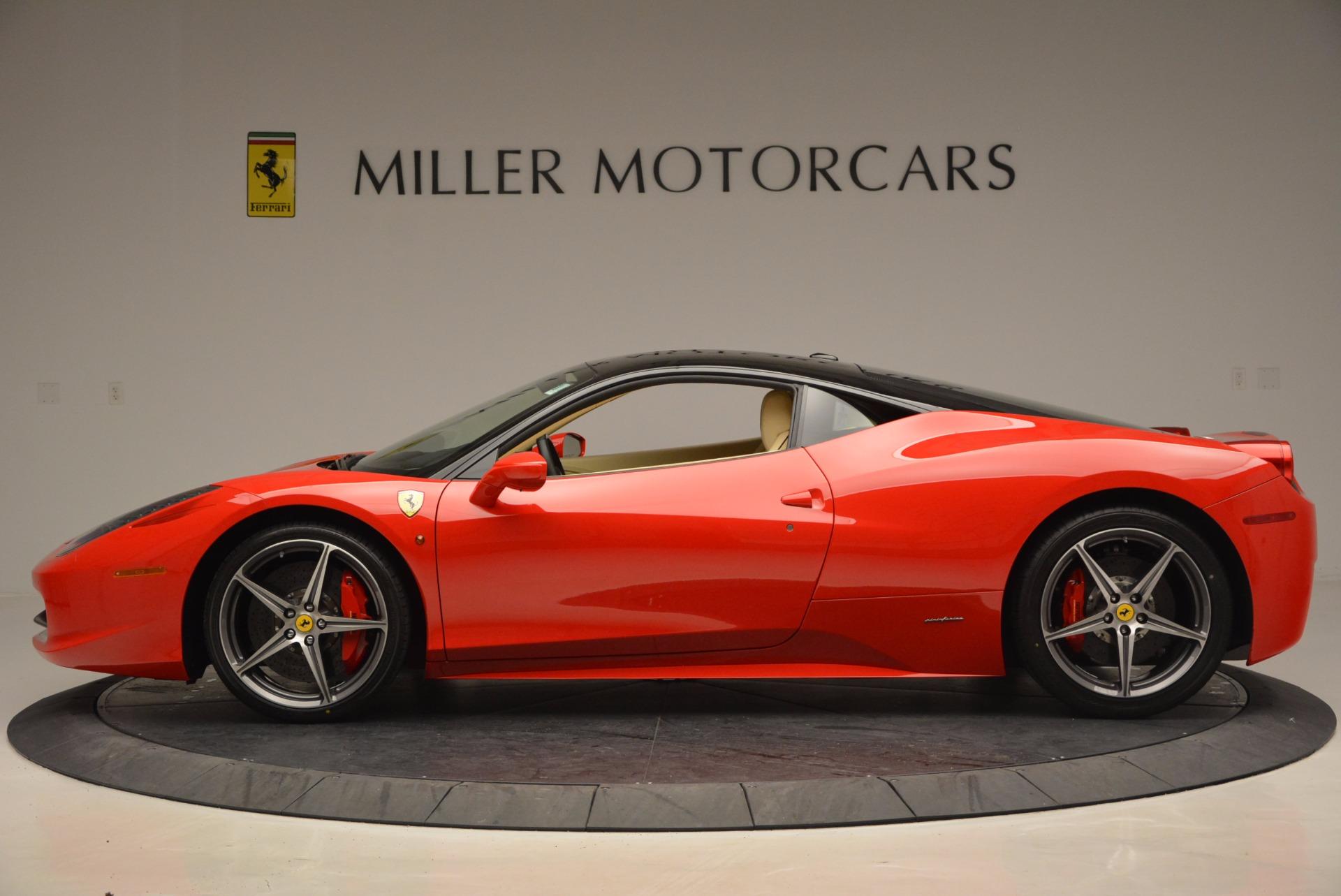 Used 2011 Ferrari 458 Italia  For Sale In Greenwich, CT 953_p3