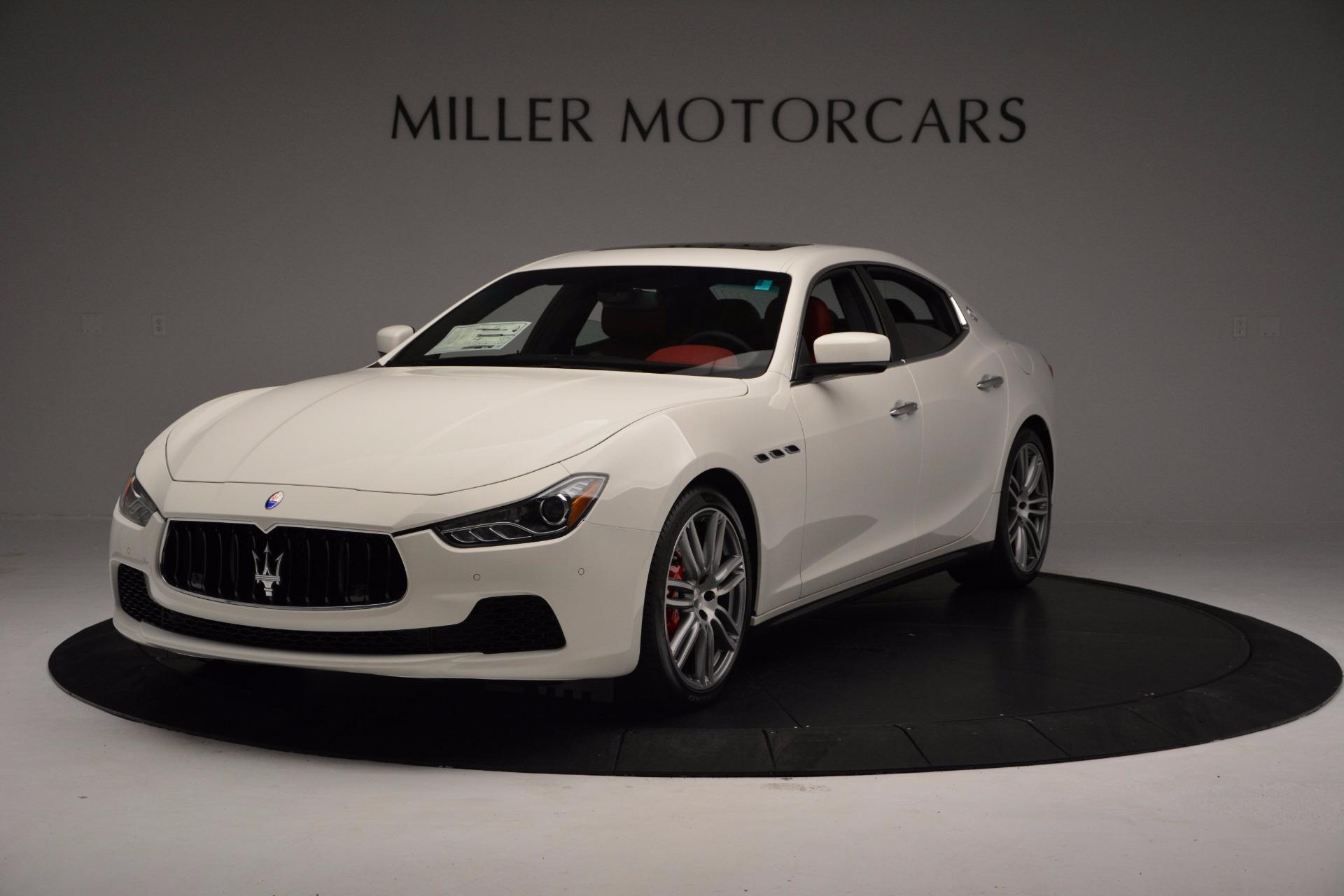 New 2017 Maserati Ghibli SQ4 For Sale In Greenwich, CT 962_main
