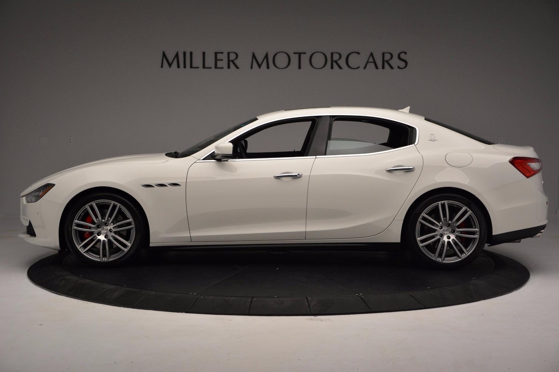 New 2017 Maserati Ghibli SQ4 For Sale In Greenwich, CT 962_p3