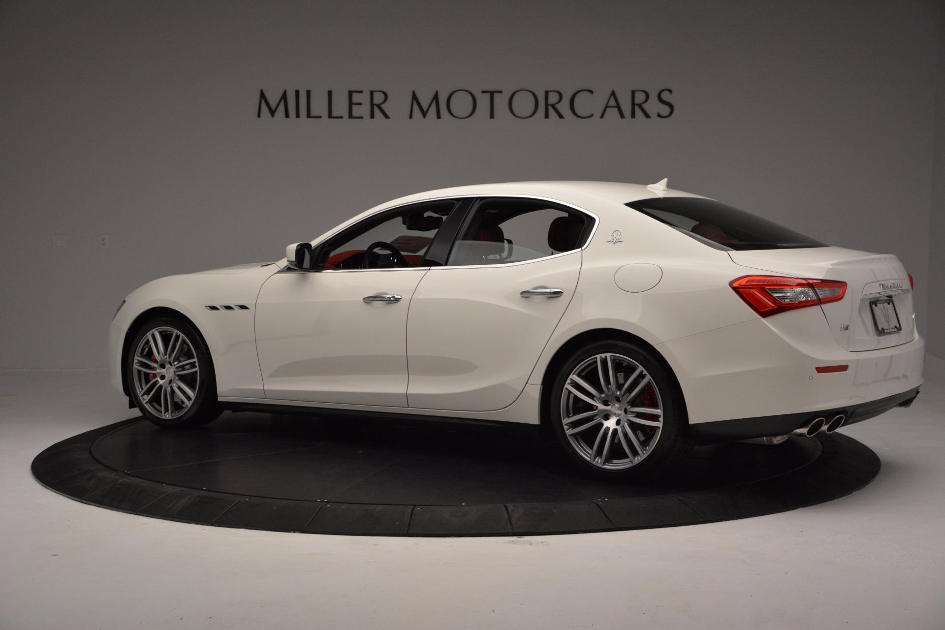 New 2017 Maserati Ghibli SQ4 For Sale In Greenwich, CT 962_p4