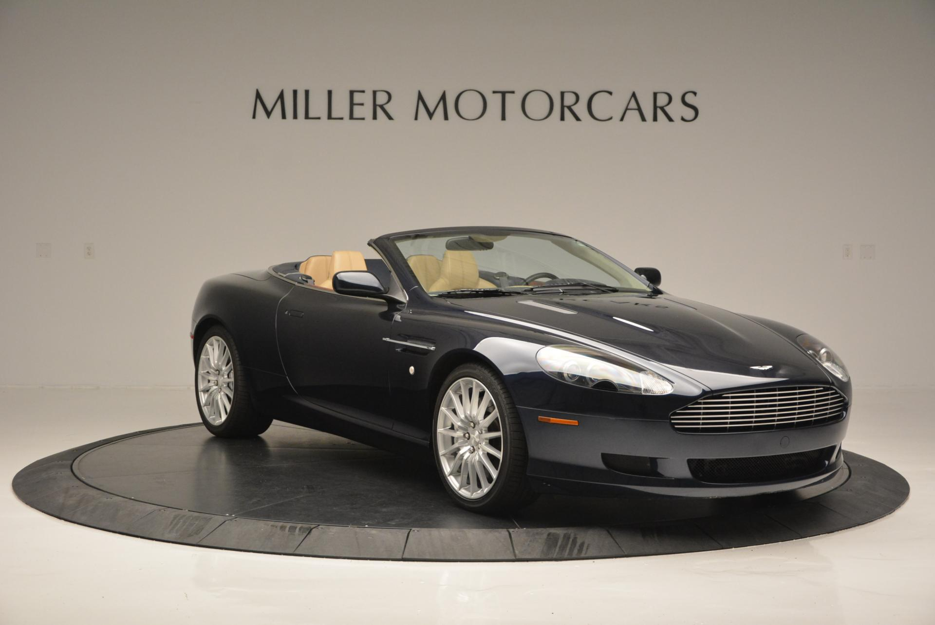 Used 2007 Aston Martin DB9 Volante For Sale In Greenwich, CT 97_p11