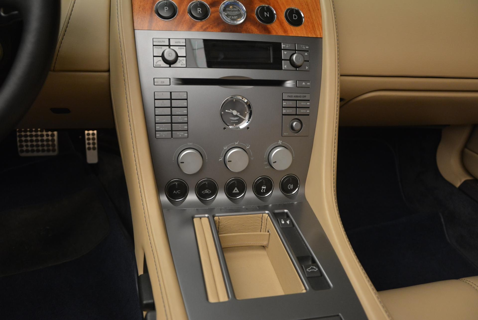 Used 2007 Aston Martin DB9 Volante For Sale In Greenwich, CT 97_p29