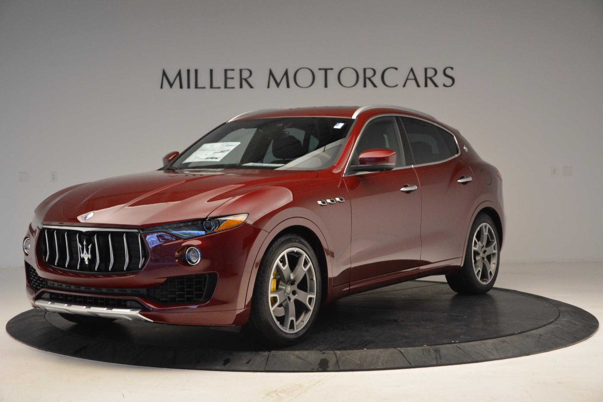 New 2017 Maserati Levante  For Sale In Greenwich, CT 992_main