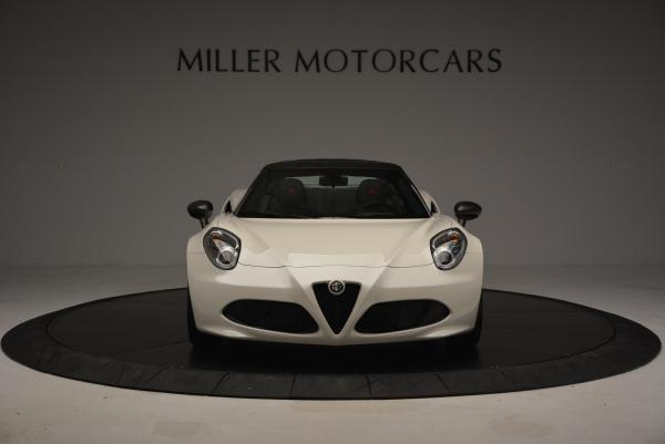 New 2015 Alfa Romeo 4C Spider for sale Sold at Maserati of Greenwich in Greenwich CT 06830 12