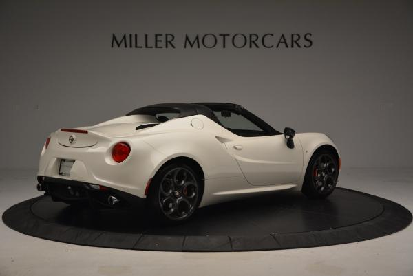 New 2015 Alfa Romeo 4C Spider for sale Sold at Maserati of Greenwich in Greenwich CT 06830 8