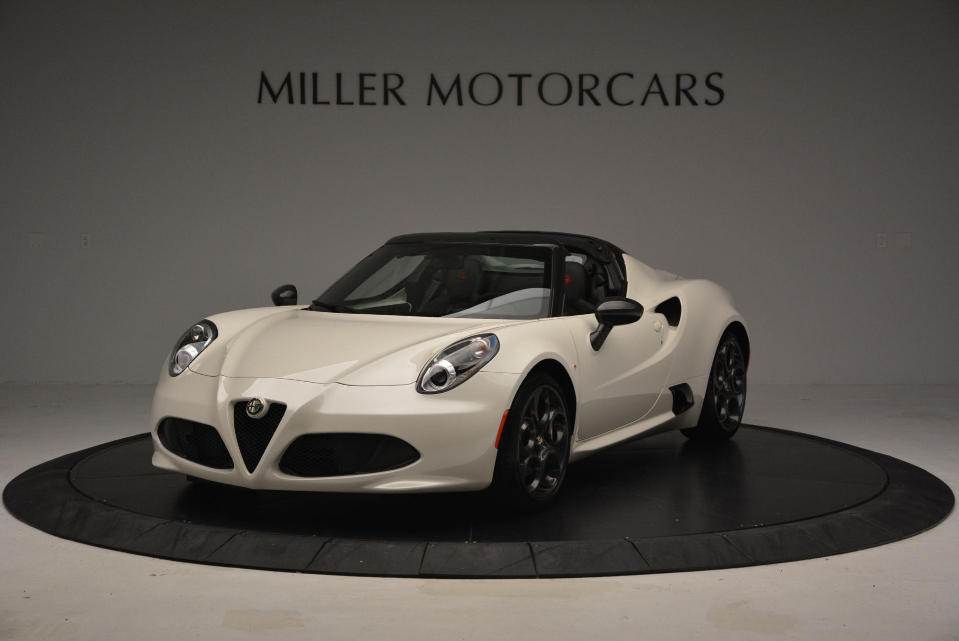 New 2015 Alfa Romeo 4C Spider for sale Sold at Maserati of Greenwich in Greenwich CT 06830 1