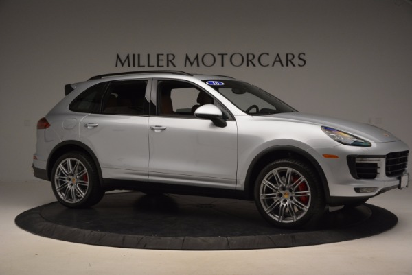 Used 2016 Porsche Cayenne Turbo for sale Sold at Maserati of Greenwich in Greenwich CT 06830 10