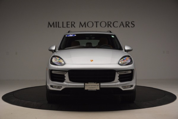 Used 2016 Porsche Cayenne Turbo for sale Sold at Maserati of Greenwich in Greenwich CT 06830 12