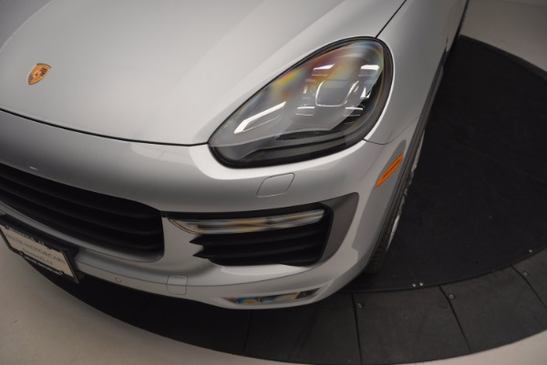 Used 2016 Porsche Cayenne Turbo for sale Sold at Maserati of Greenwich in Greenwich CT 06830 14