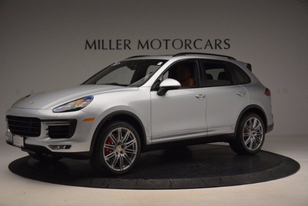 Used 2016 Porsche Cayenne Turbo for sale Sold at Maserati of Greenwich in Greenwich CT 06830 2