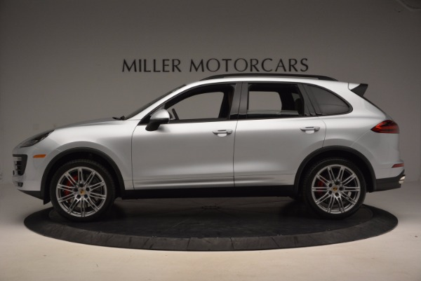 Used 2016 Porsche Cayenne Turbo for sale Sold at Maserati of Greenwich in Greenwich CT 06830 3
